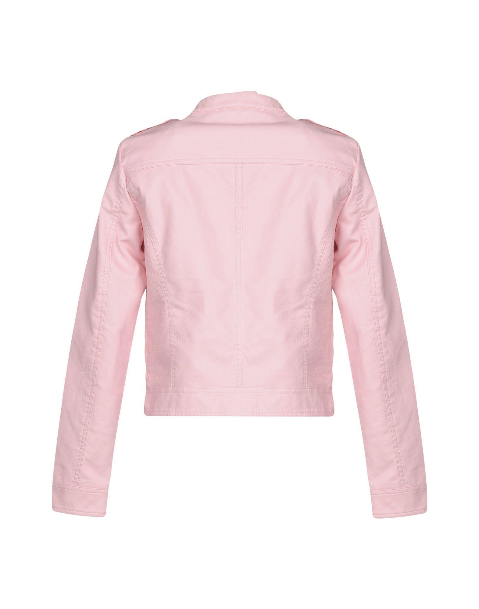 Vero Moda Pink Faux Leather Jacket