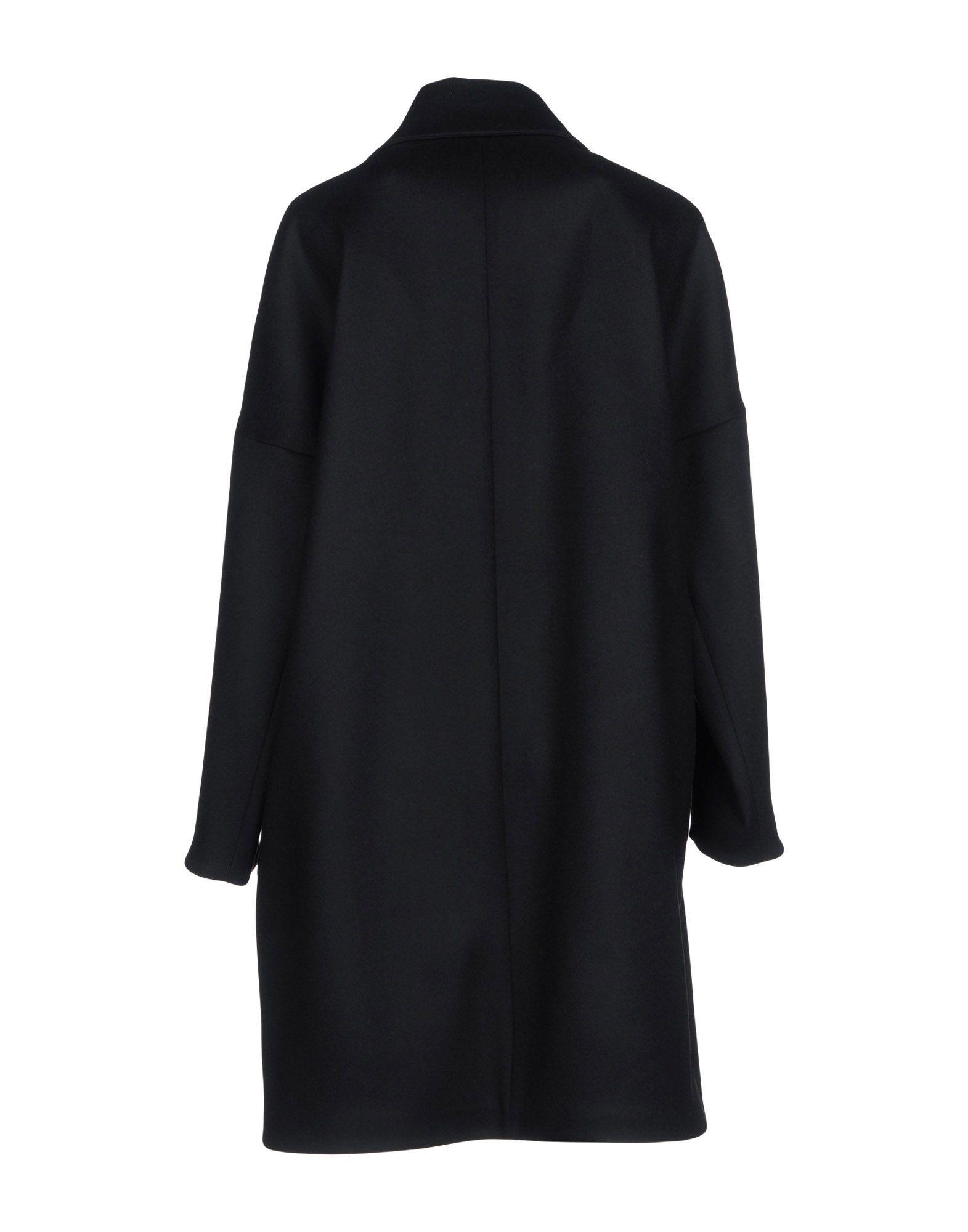 COATS & JACKETS Albino Teodoro Black Woman Virgin Wool