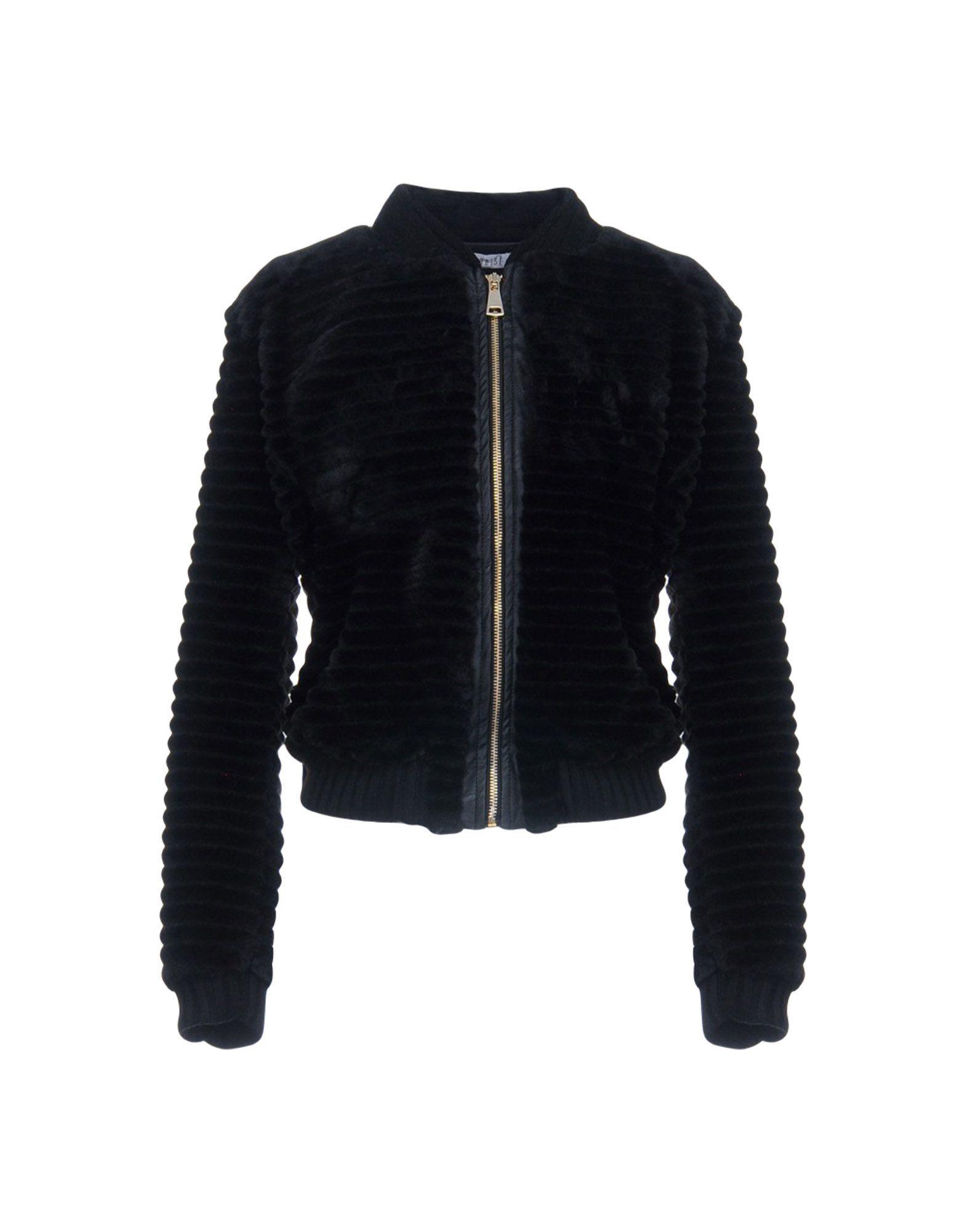 Coat & Jackets Dois� Black Women's Polyester