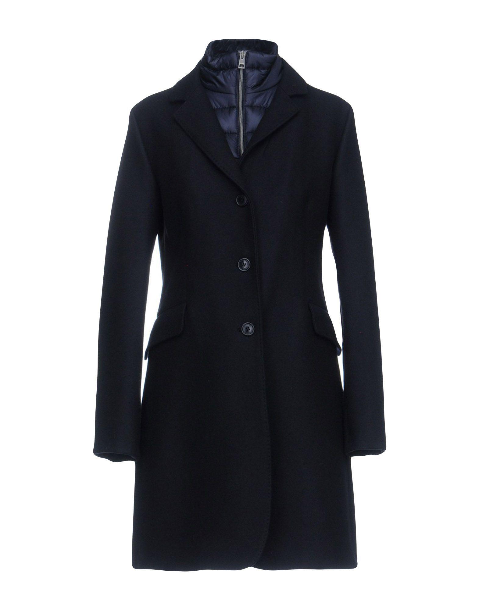 COATS & JACKETS Jan Mayen Dark blue Woman Virgin Wool