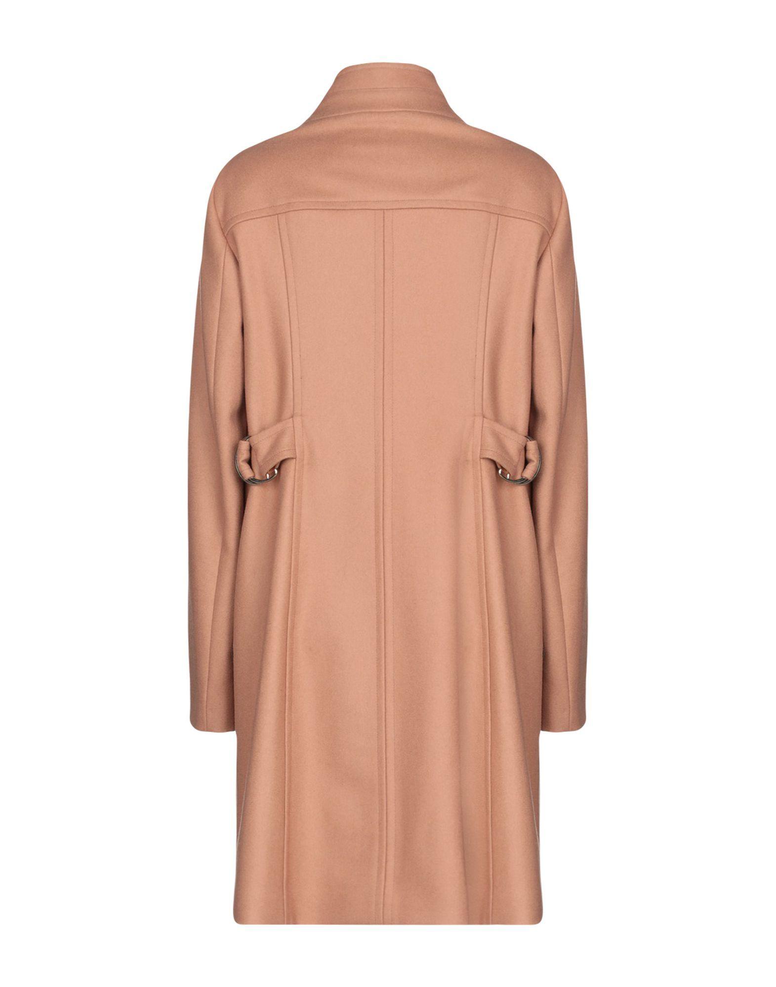 COATS & JACKETS Annie P. Camel Woman Virgin Wool