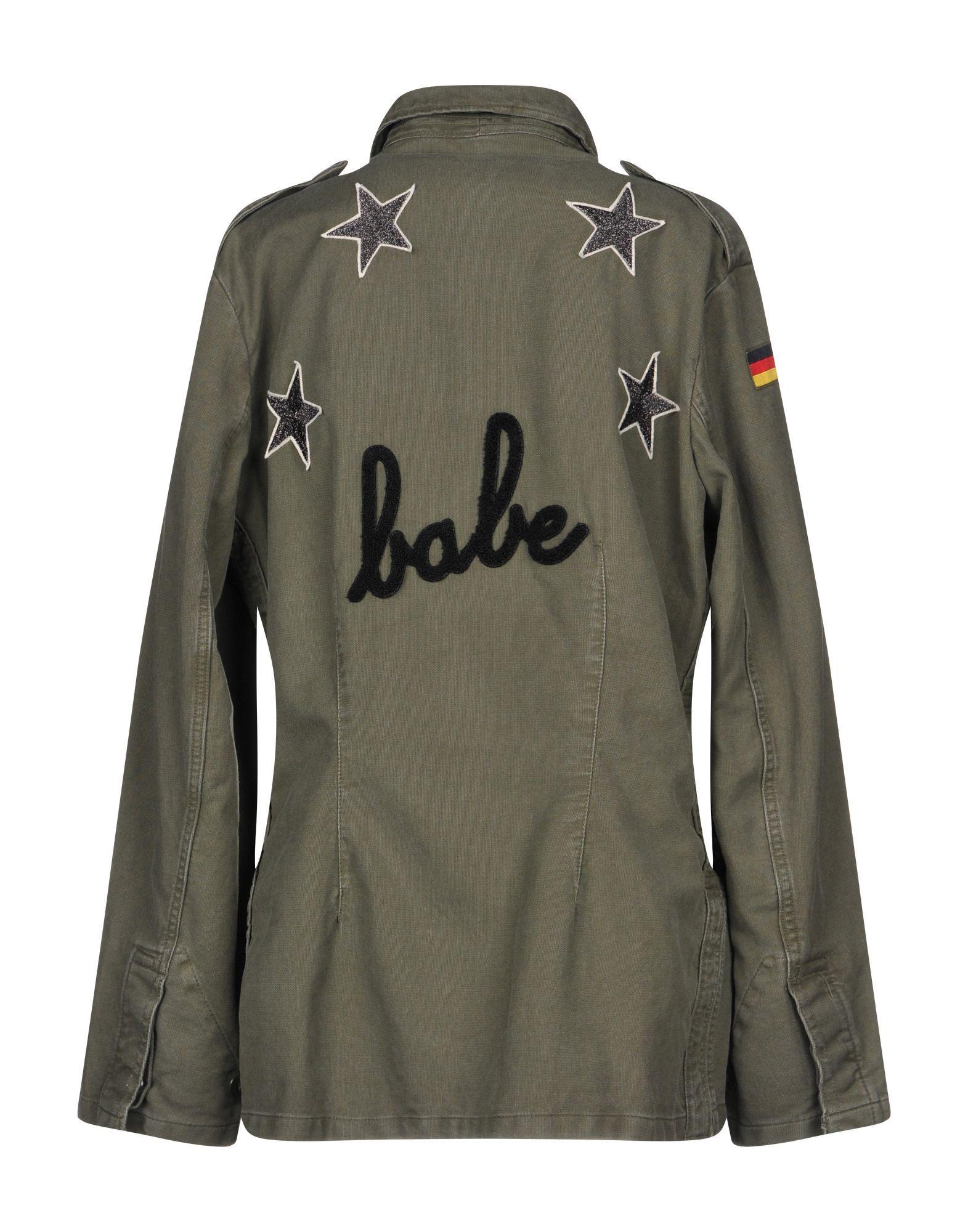 Coat & Jackets Mpd Box Military Green Women's Cotton