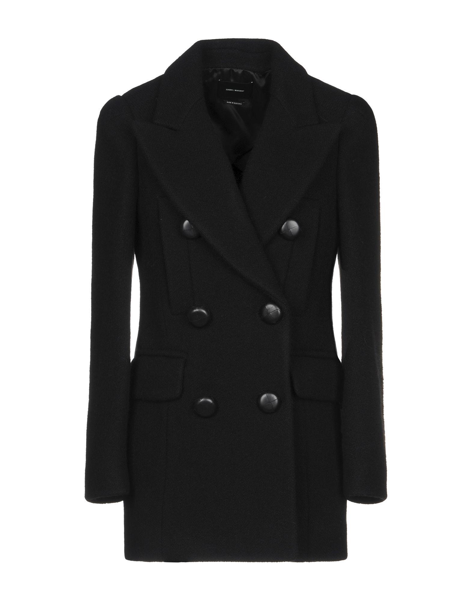 Isabel Marant Black Virgin Wool Double Breasted Jacket