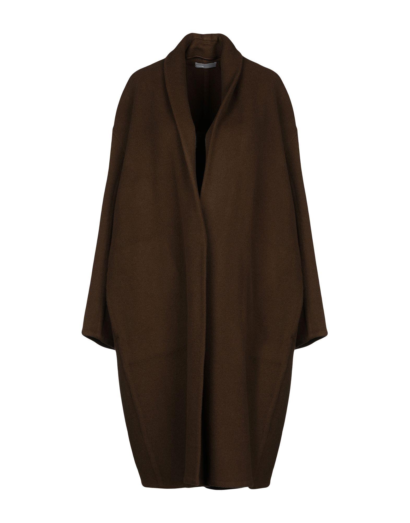 Vince. Military Green Wool Overcoat