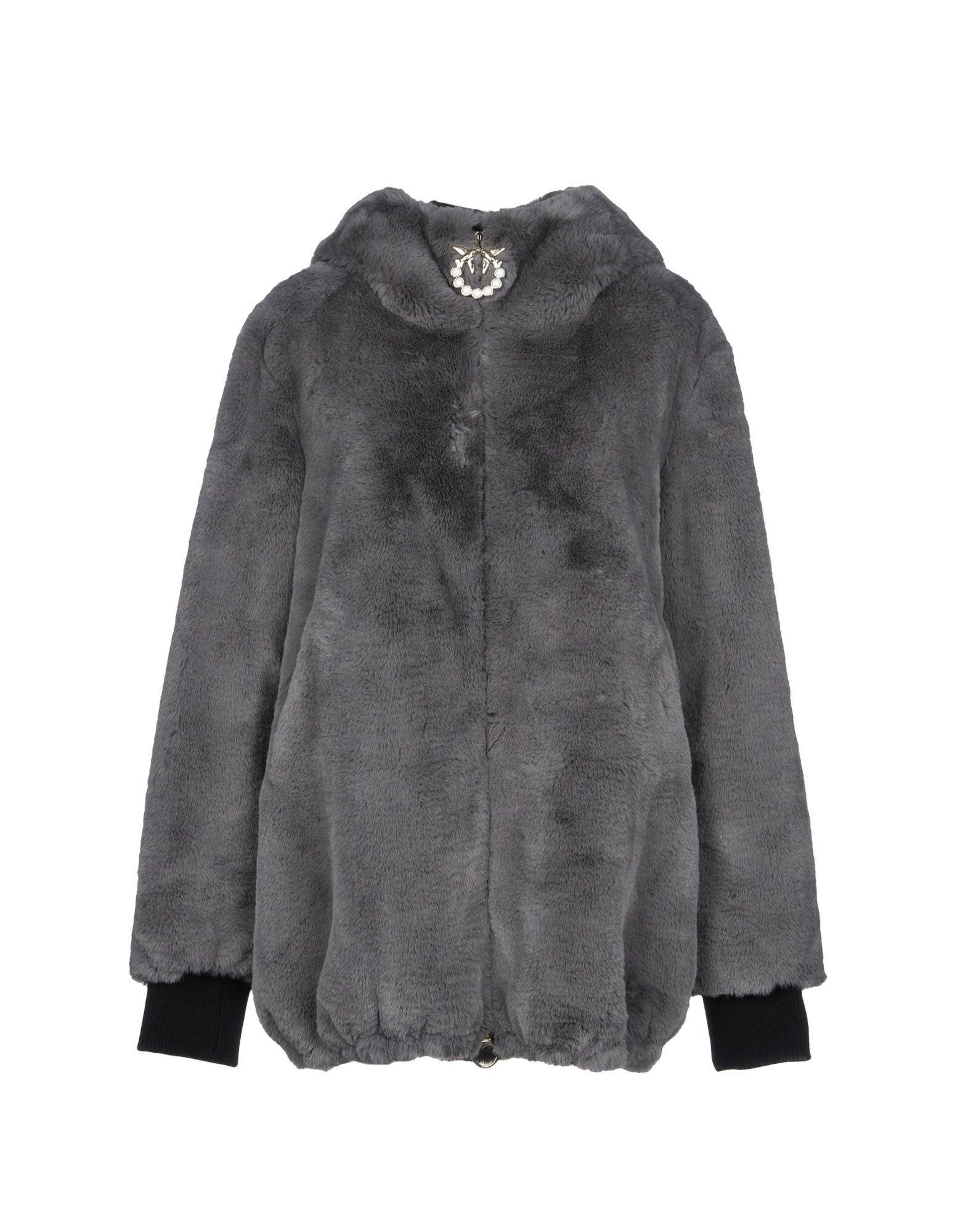 Pinko Lead Faux Fur Jacket