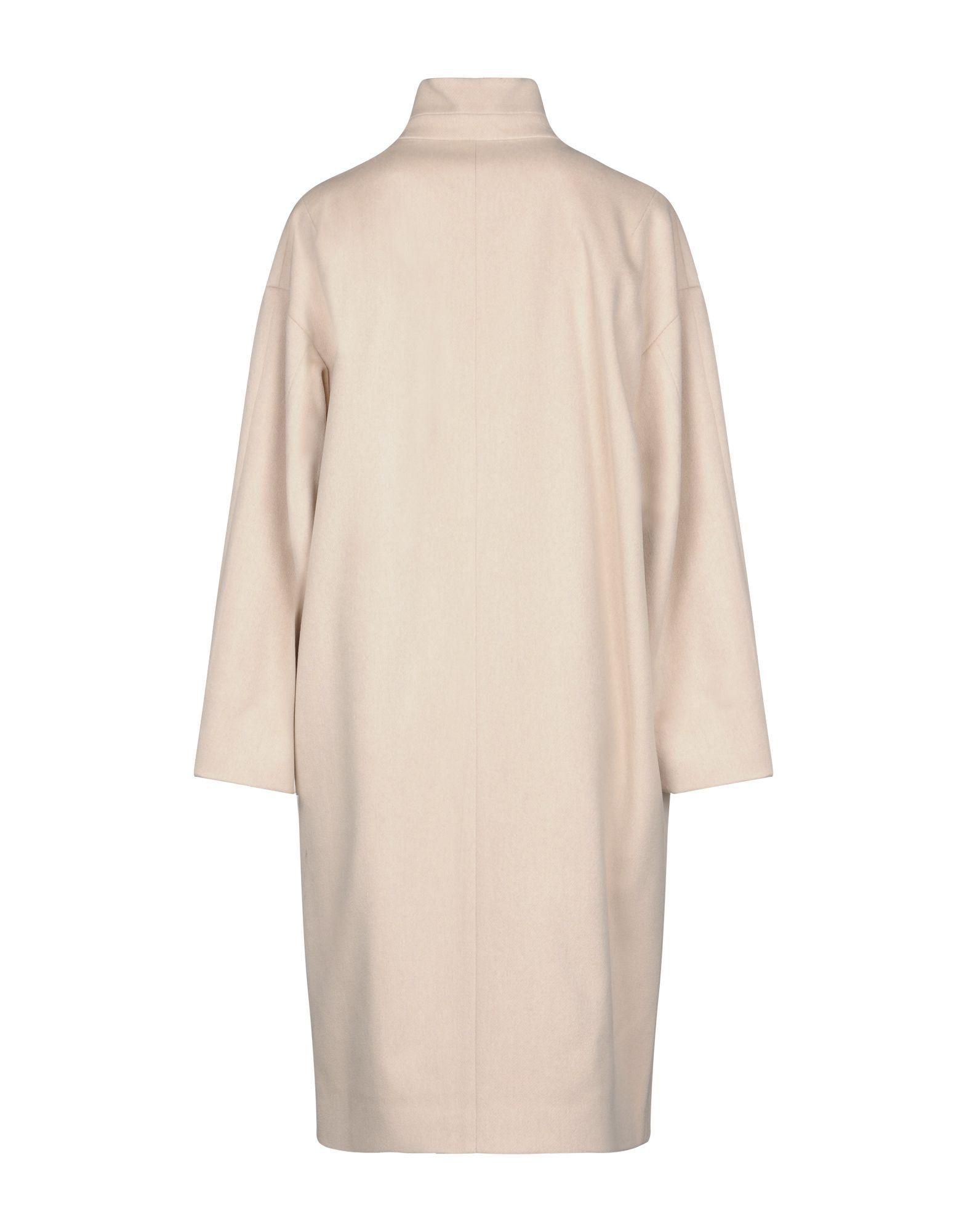 COATS & JACKETS Brian Dales Light pink Woman Wool