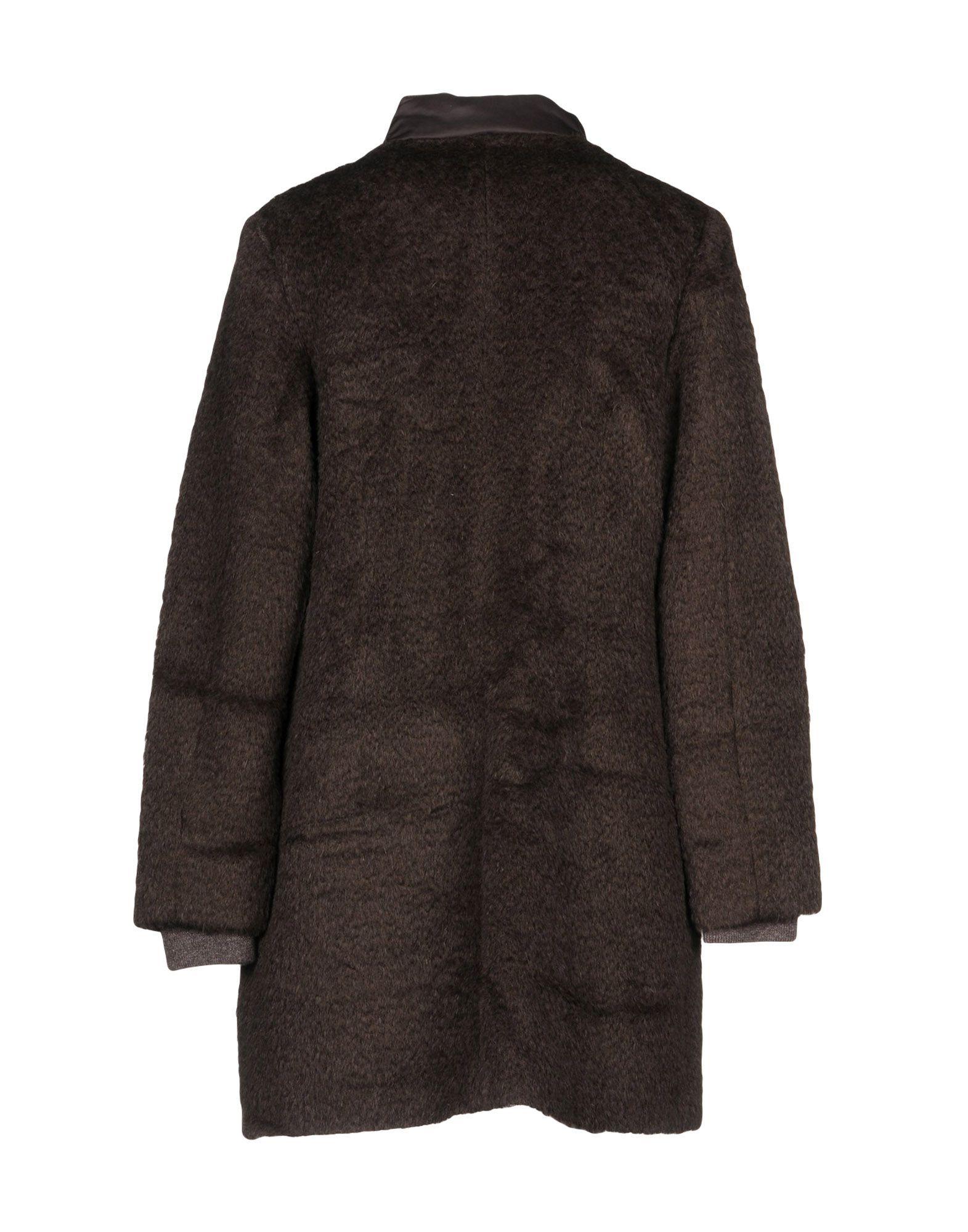 Coat & Jackets Gran Sasso Cocoa Women's Virgin Wool