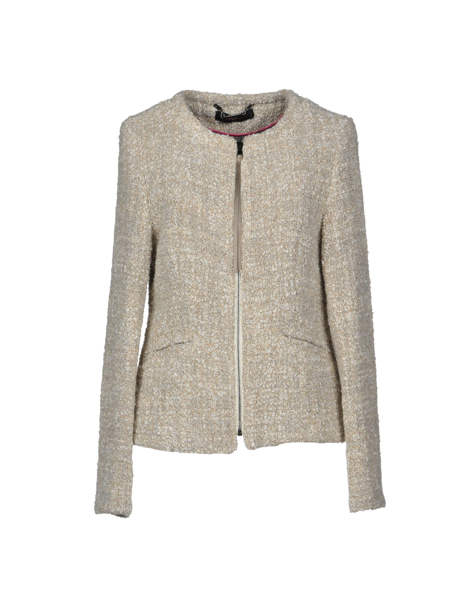 Cafenoir Beige Boucle Jacket