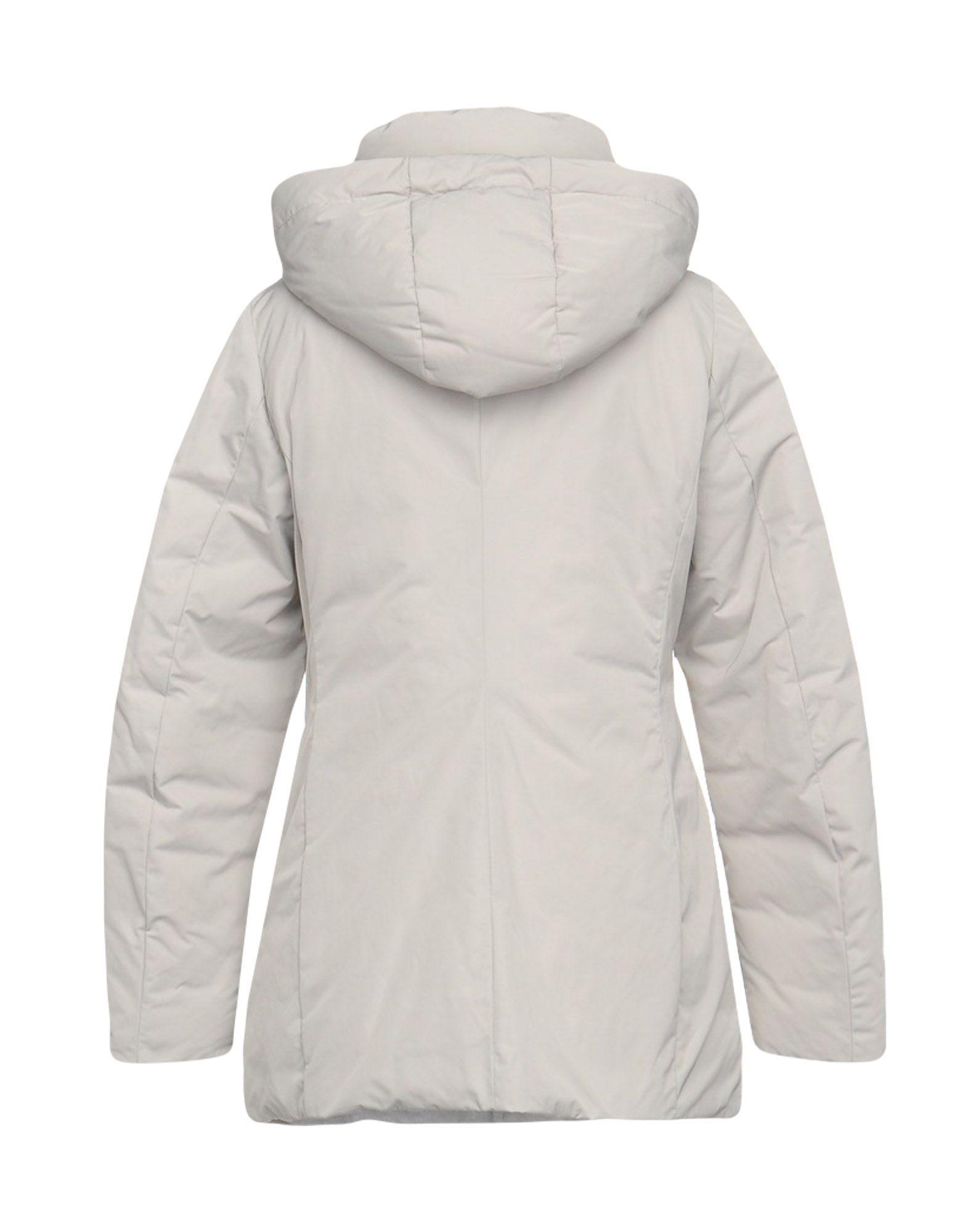 COATS & JACKETS [C] Studio Light grey Woman Polyester