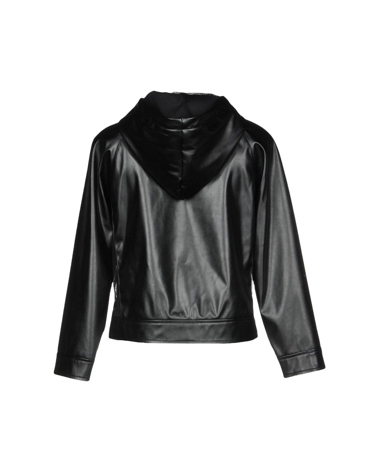 Roÿ Roger's Black Faux Leather Biker Jacket