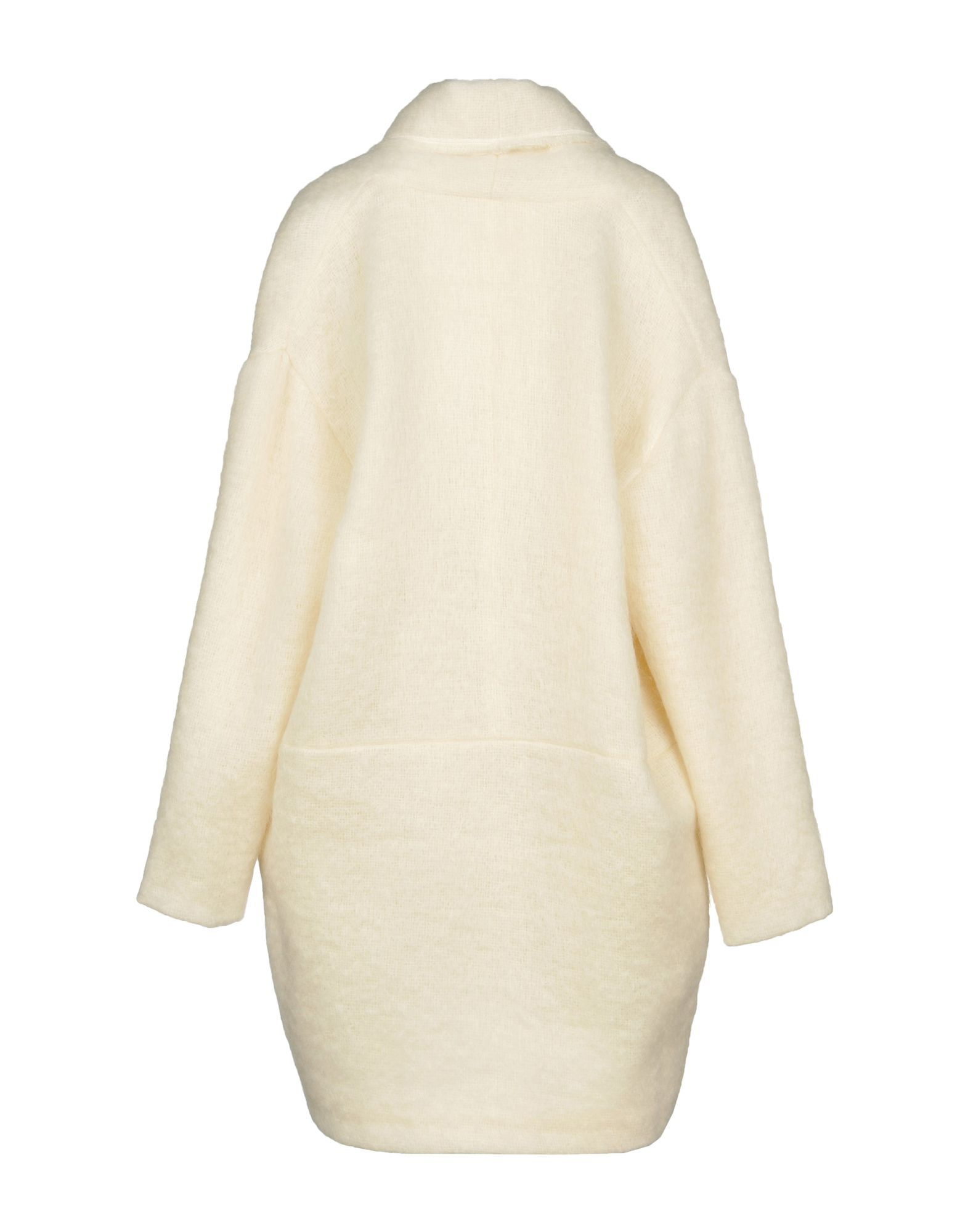 Coat & Jackets Pomand�Re Ivory Women's Mohair Wool