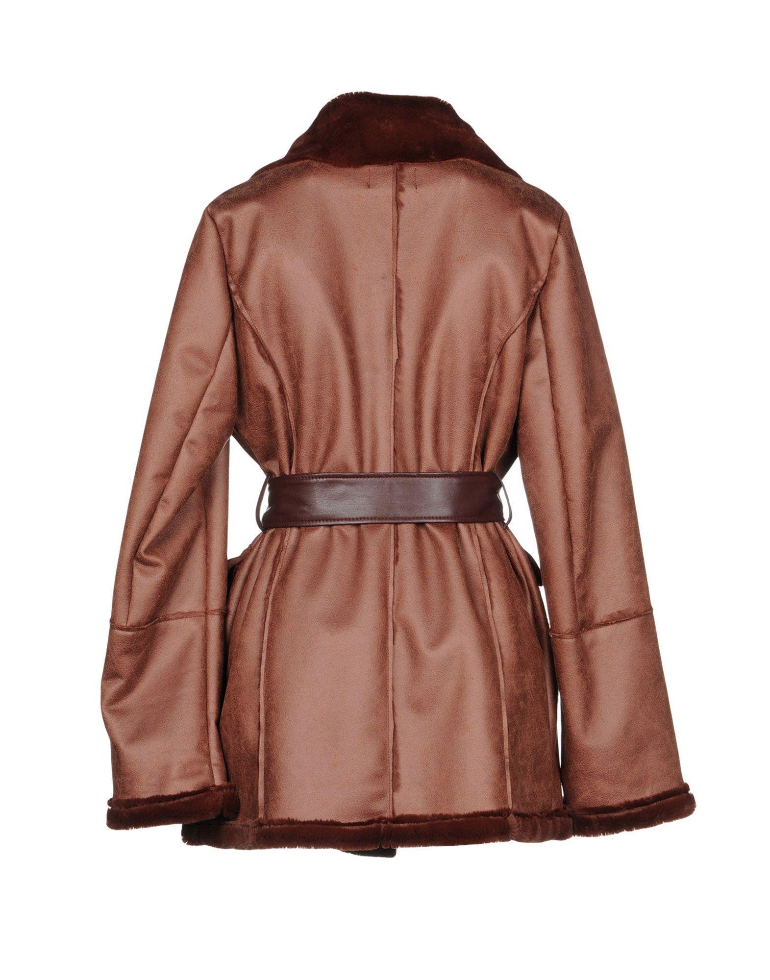 Coat & Jackets Diana Gallesi Brown Women's Polyester