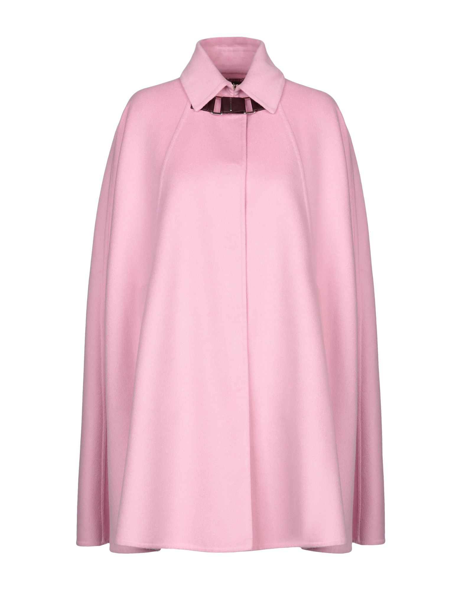 Versace Pink Wool Cape