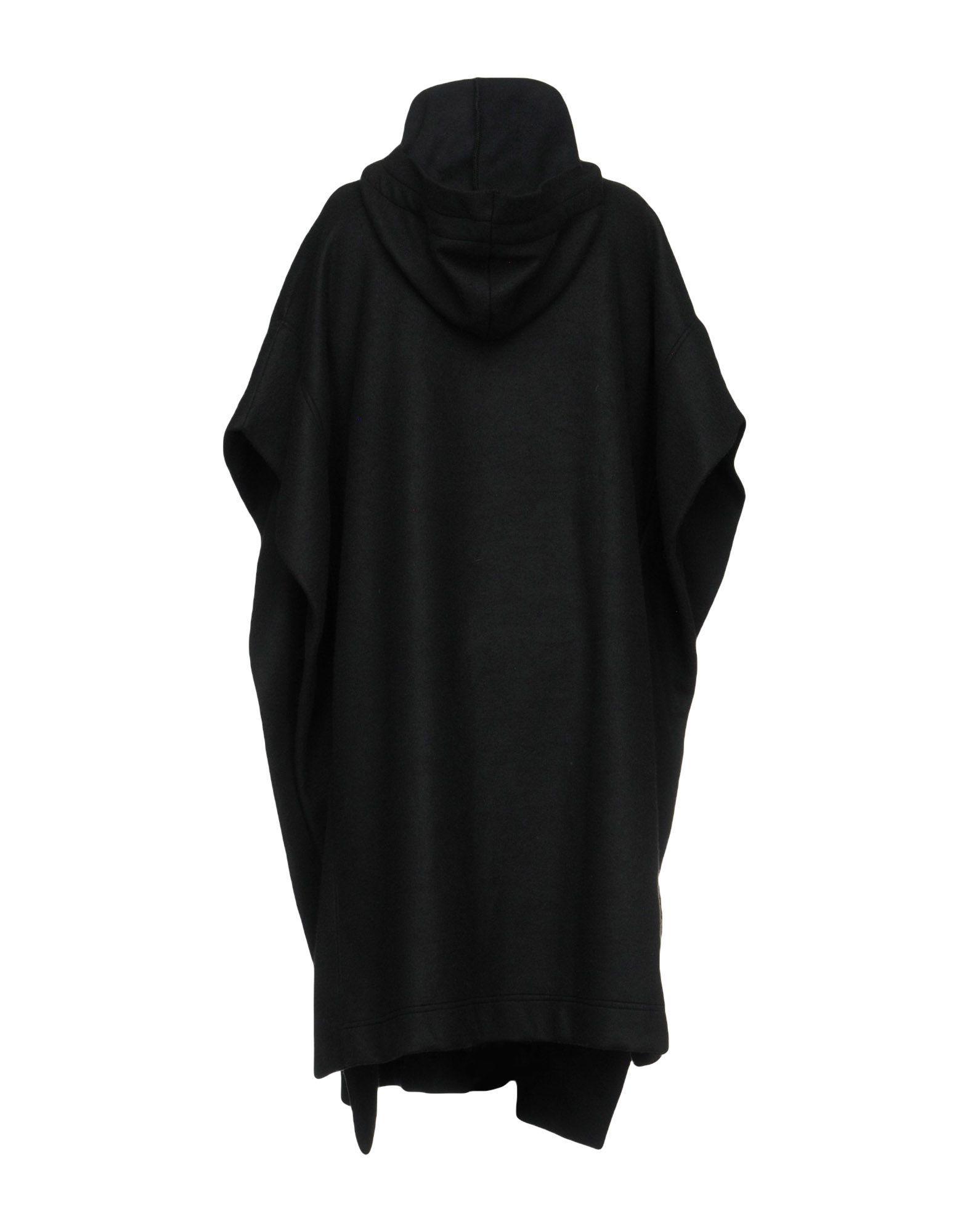 X Concept Black Cotton Cape