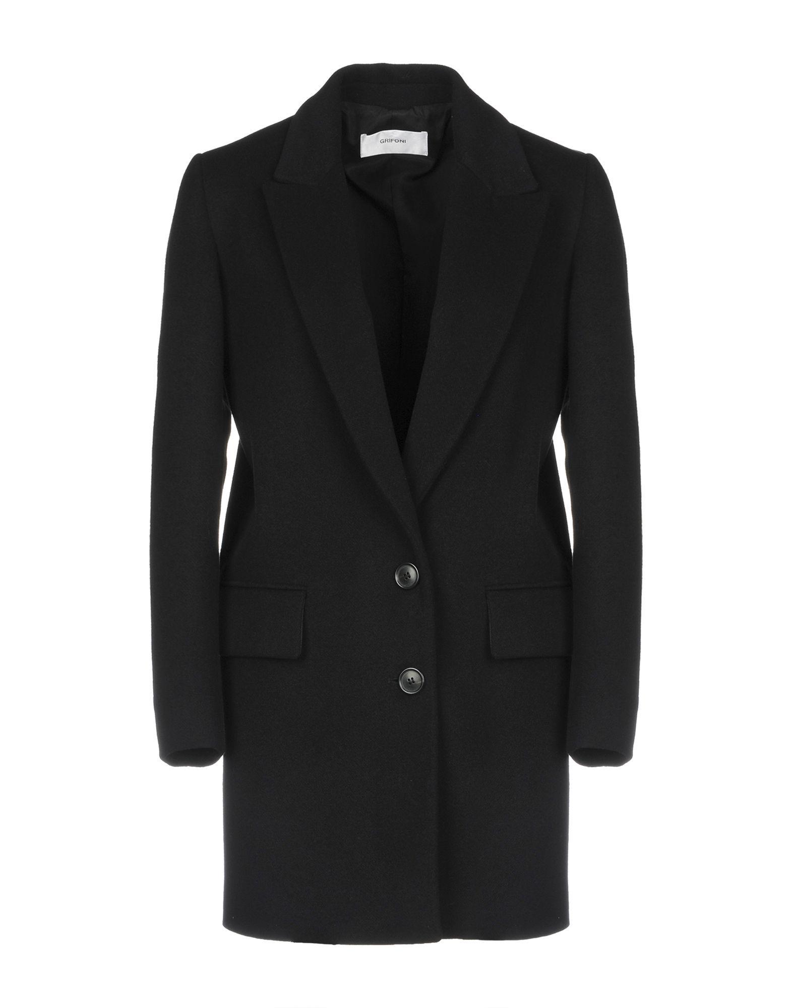 Mauro Grifoni Black Wool Single Breasted Jacket