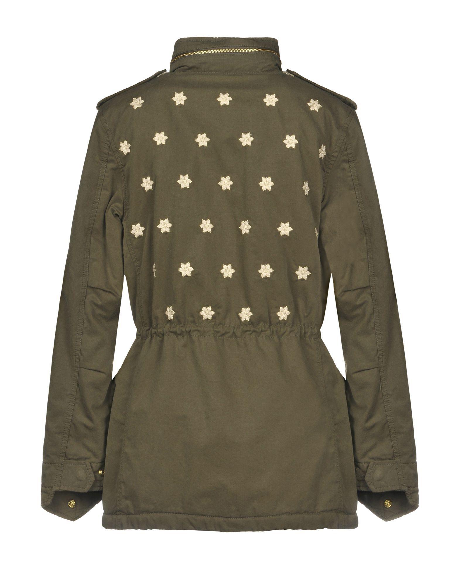 Roÿ Roger's Military Green Cotton Safari Jacket