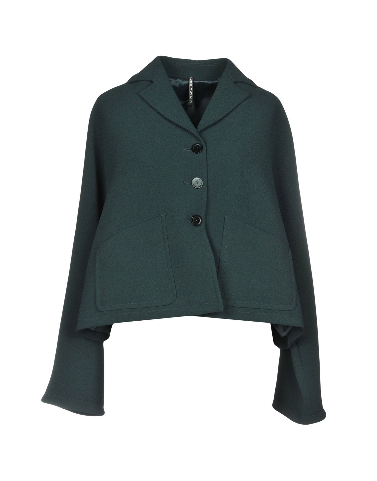 Suits And Jackets Liviana Conti Dark Green Women's Polyester