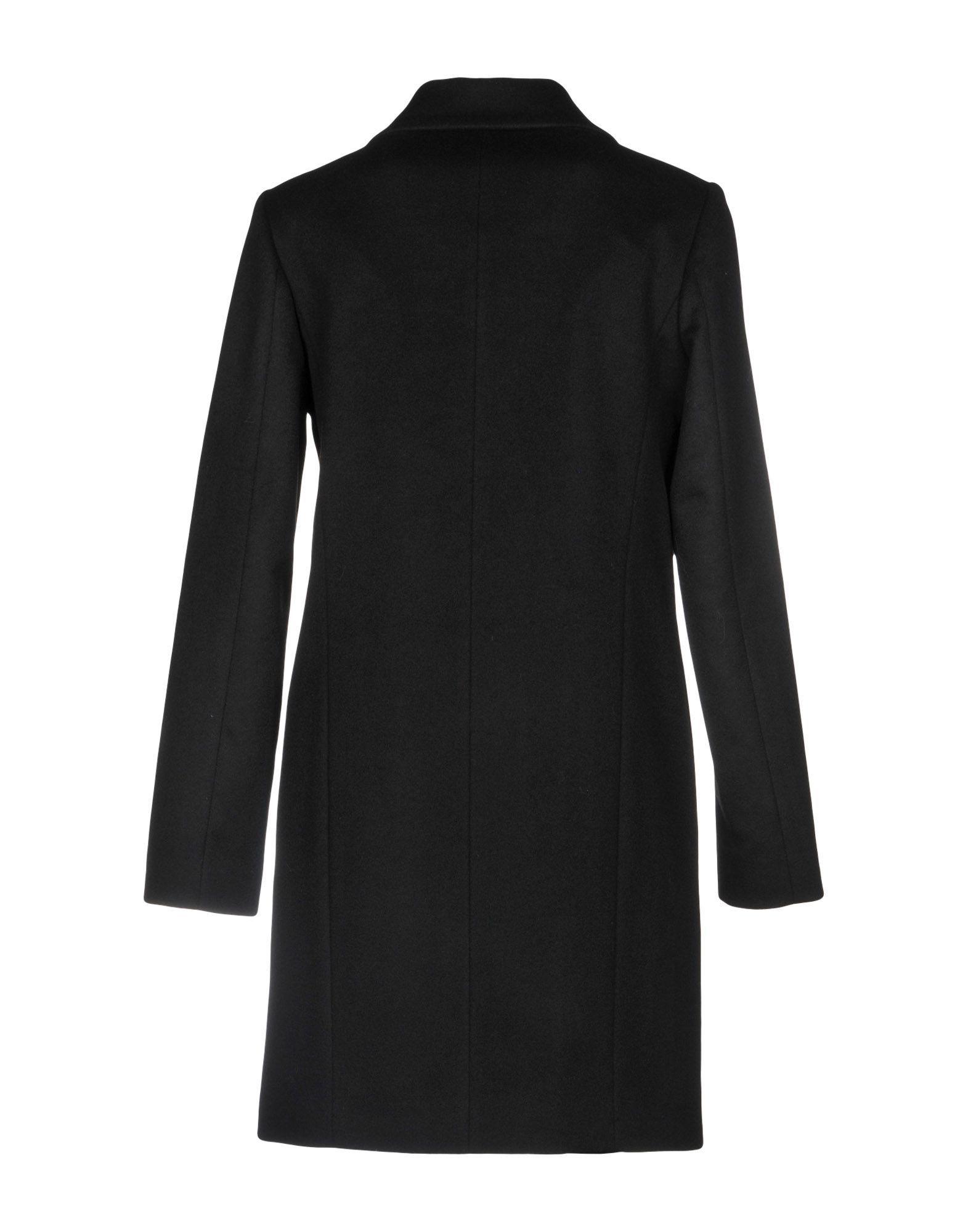 COATS & JACKETS Annie P. Black Woman Wool