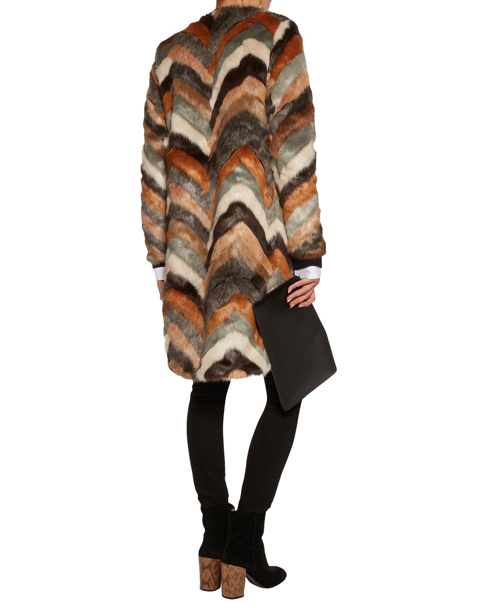 Coat & Jackets Tart Collections Brown Women's Acrilyc
