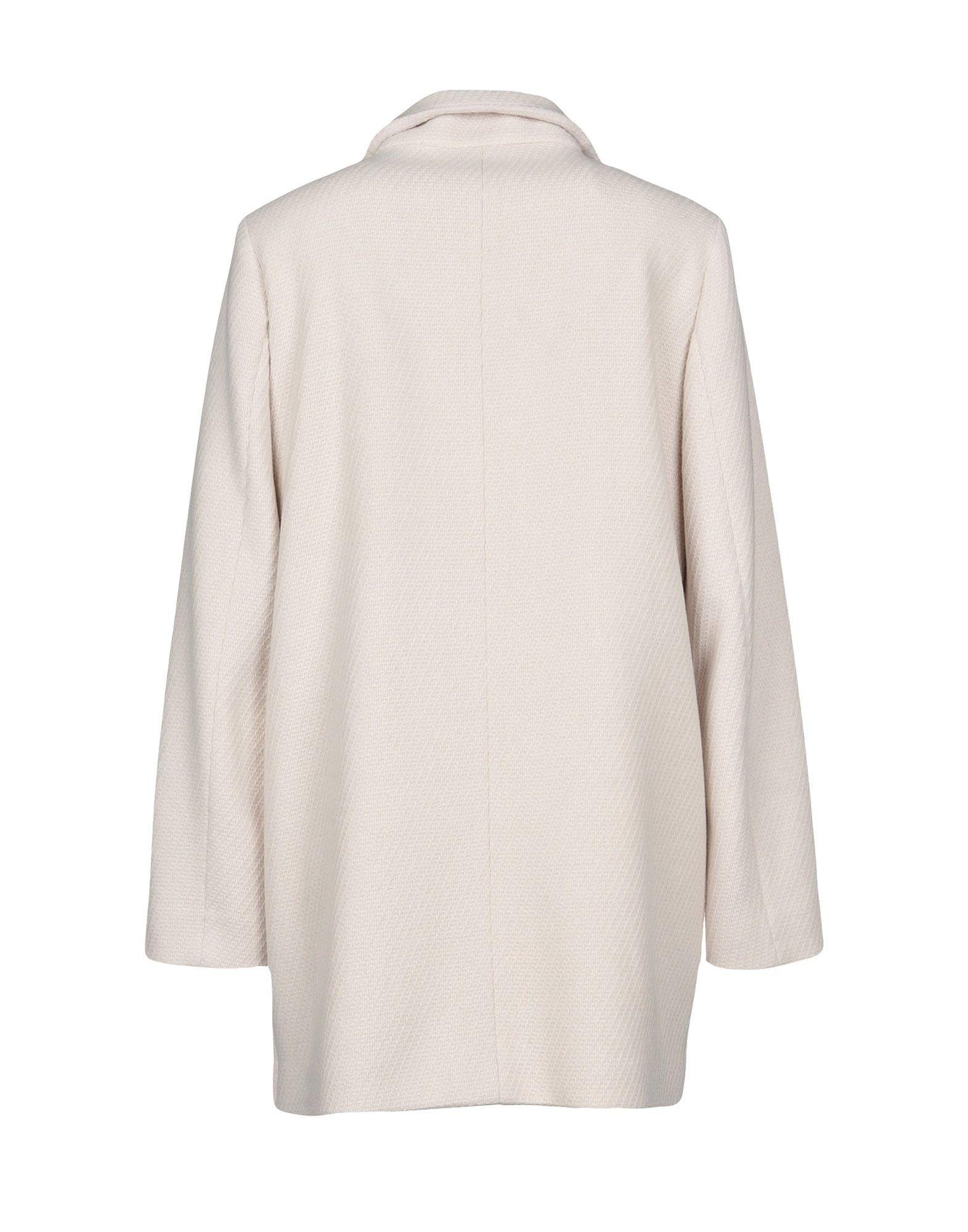 COATS & JACKETS Schneiders Ivory Woman Virgin Wool