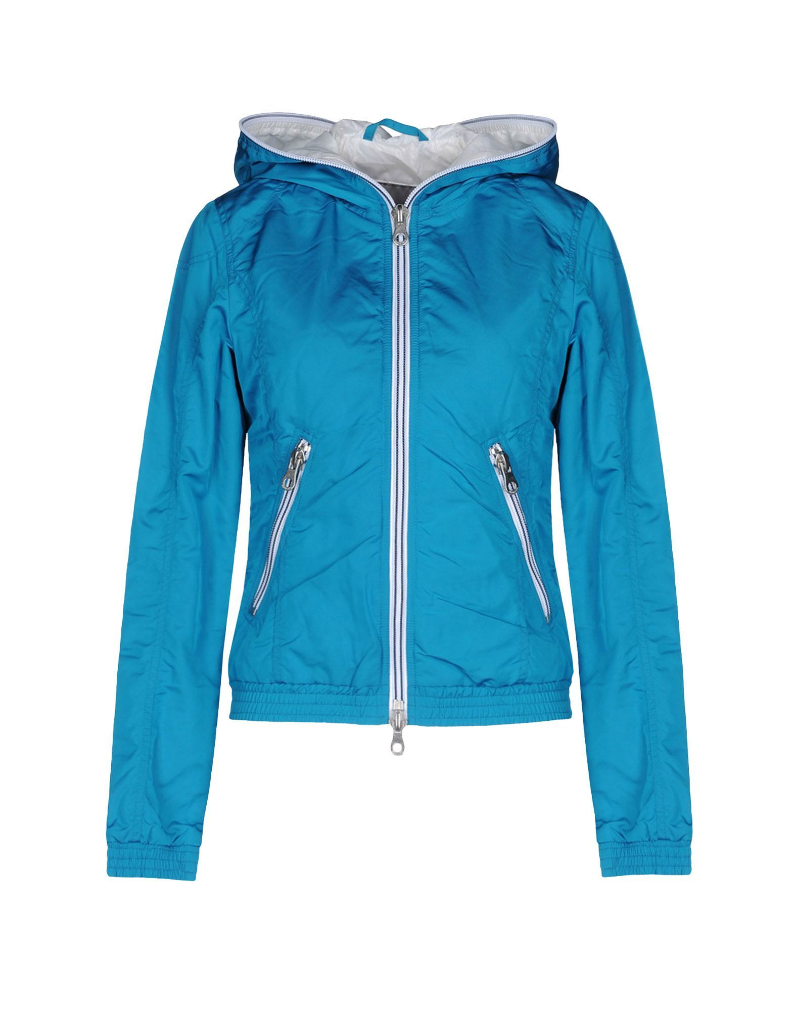 COATS & JACKETS Duvetica Turquoise Woman Polyamid