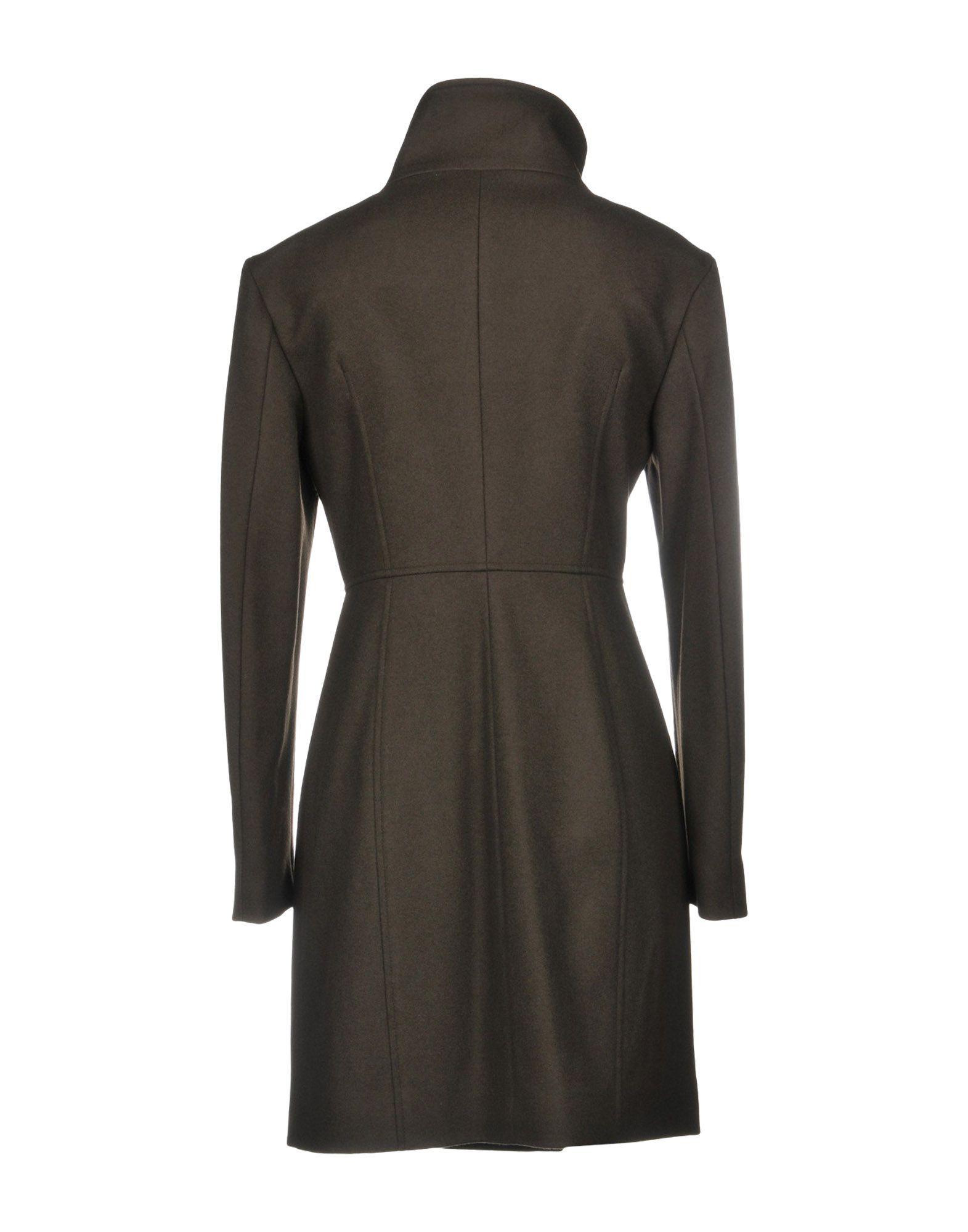 Coat & Jackets Annie P. Dark Brown Women's Virgin Wool
