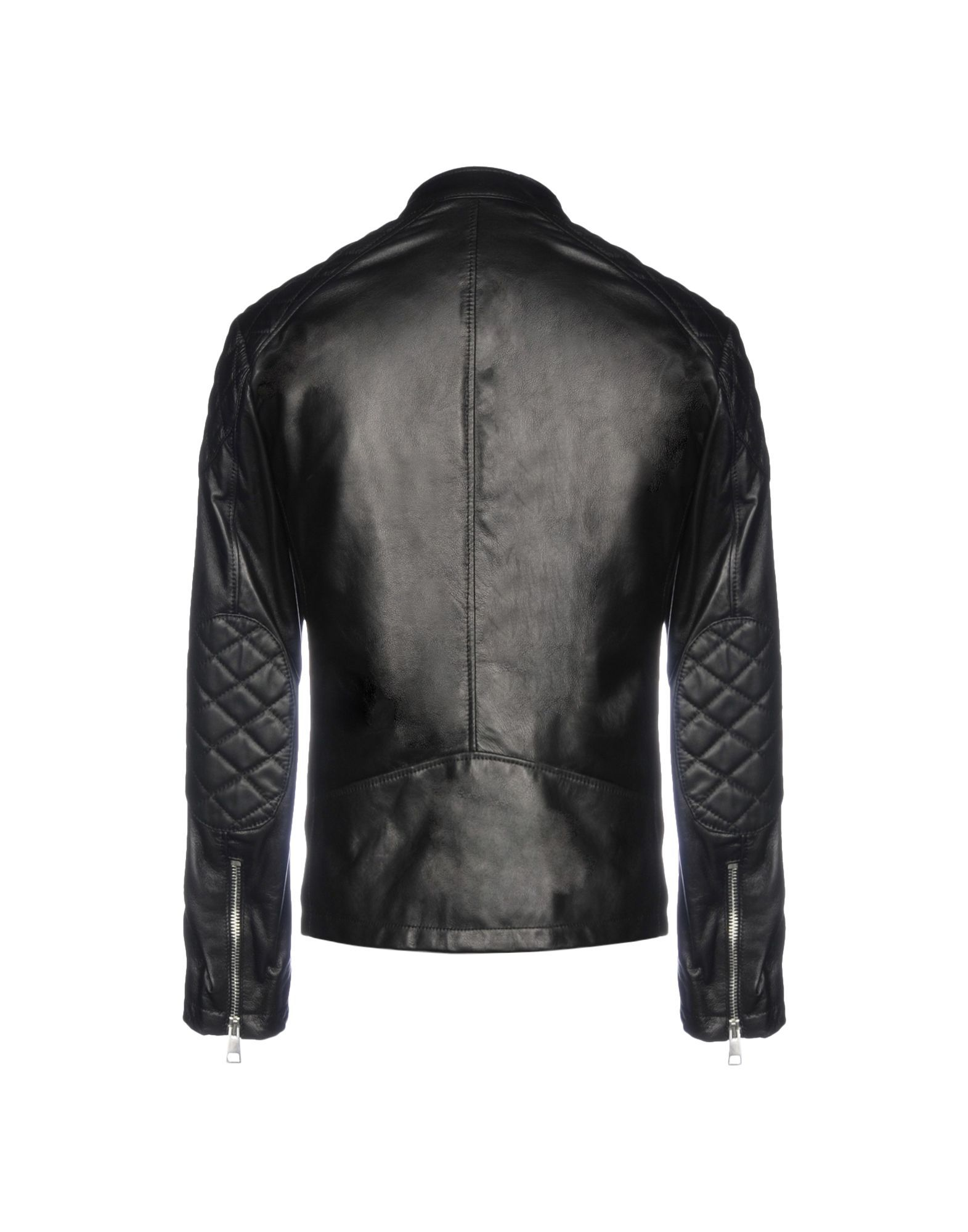 COATS & JACKETS Street Leathers Black Man Leather