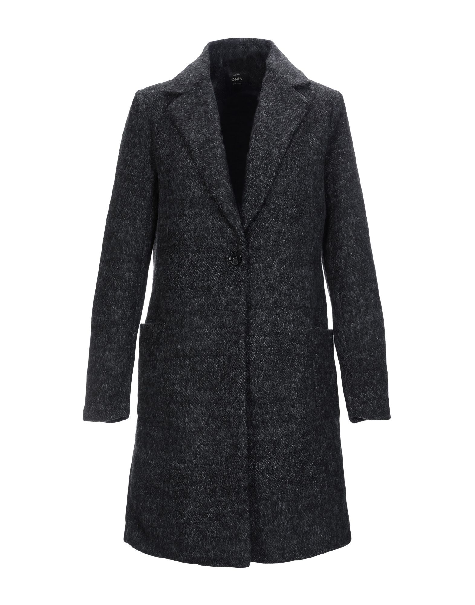 Only Black Cotton Overcoat