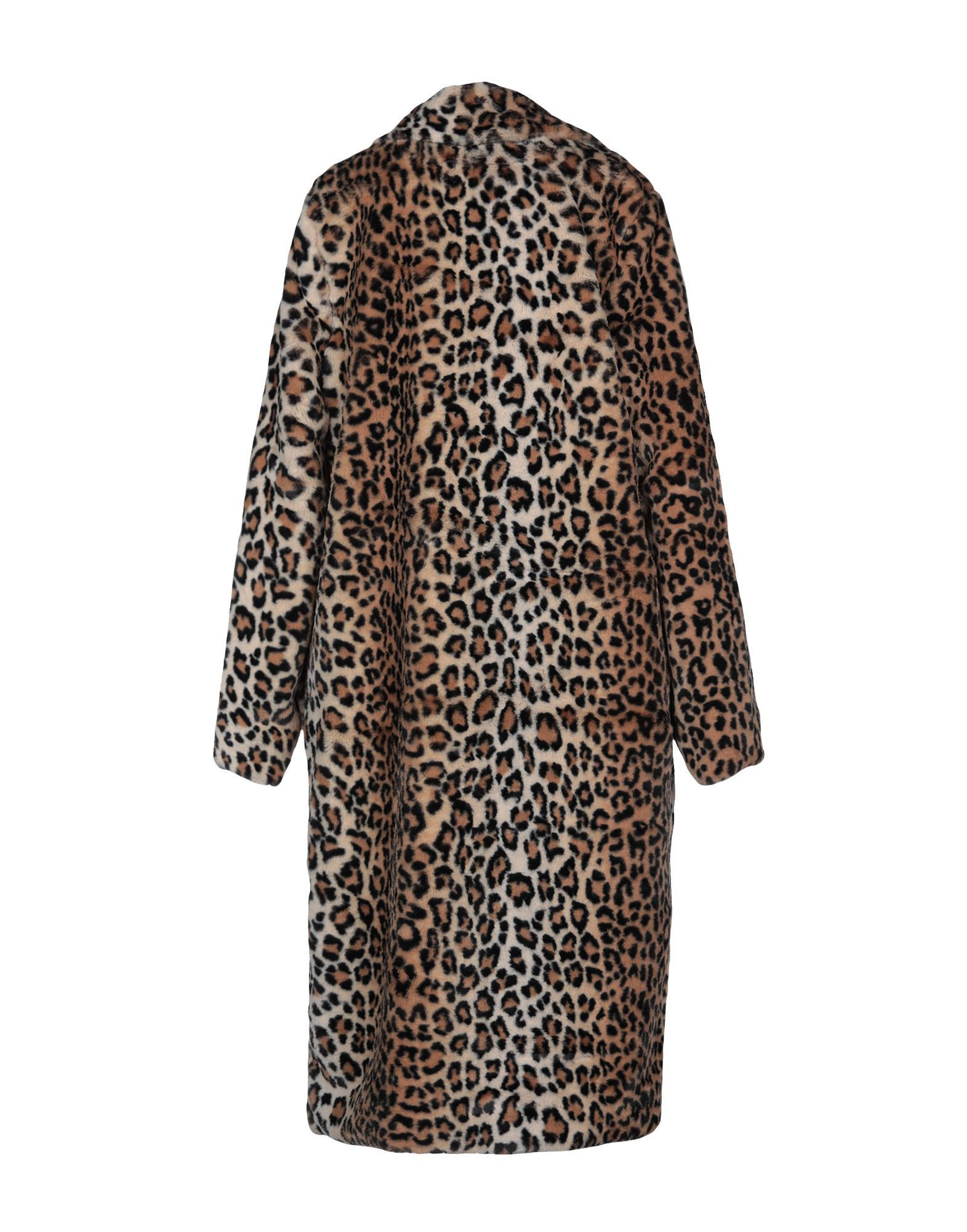 COATS & JACKETS Y.A.S. Camel Woman Polyester