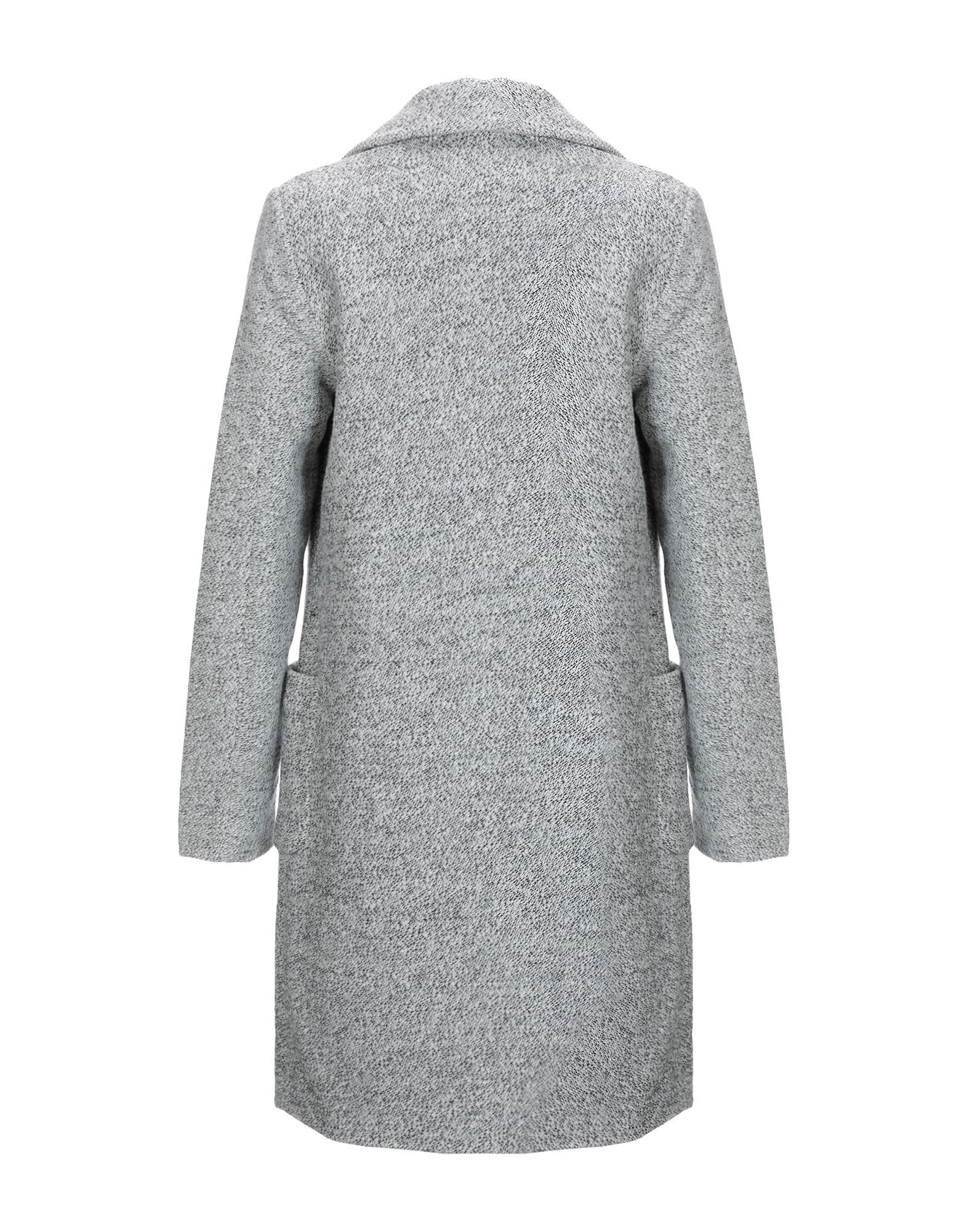 Only Light Grey Cotton Overcoat