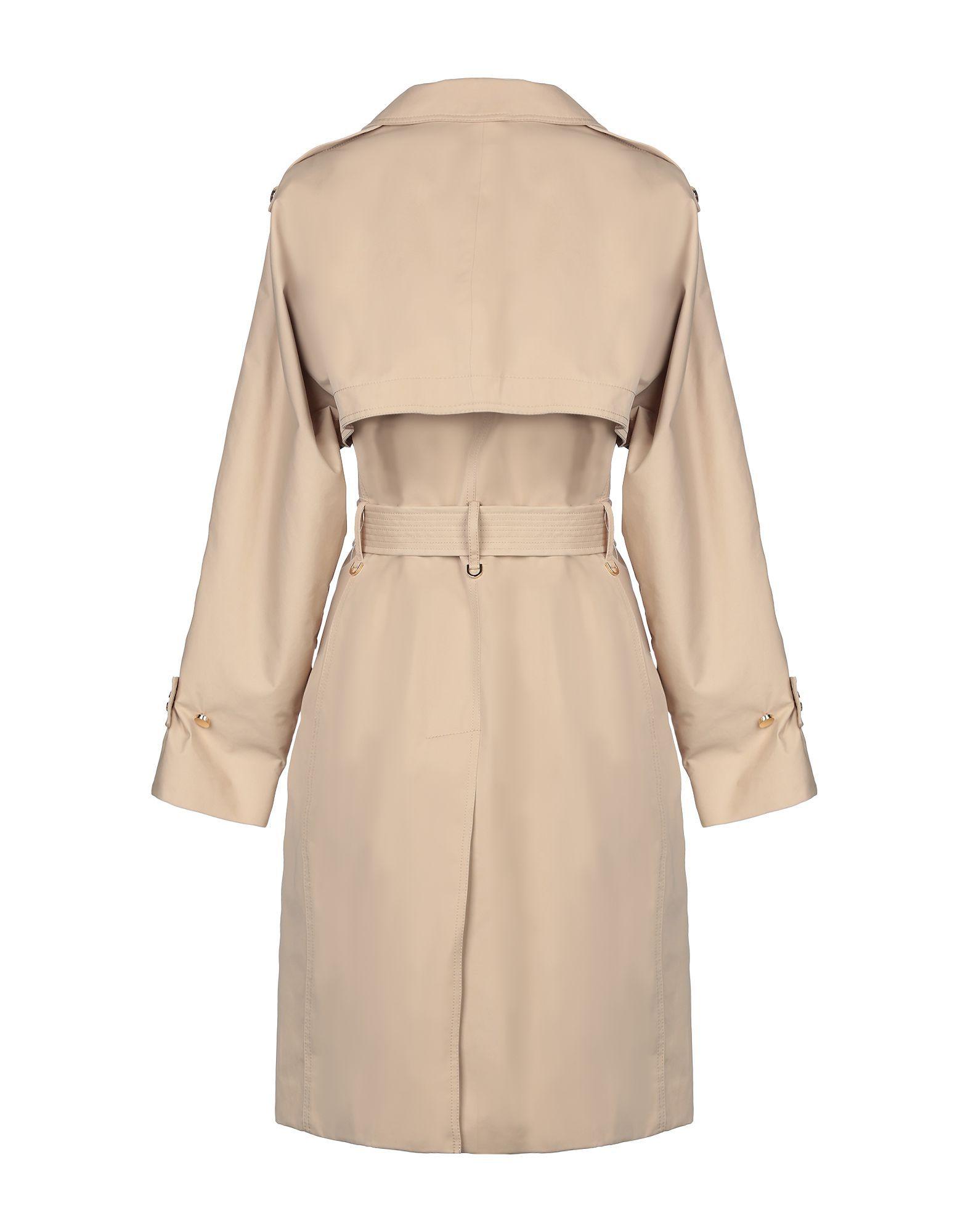Coat & Jackets Michael Michael Kors Beige Women's Cotton