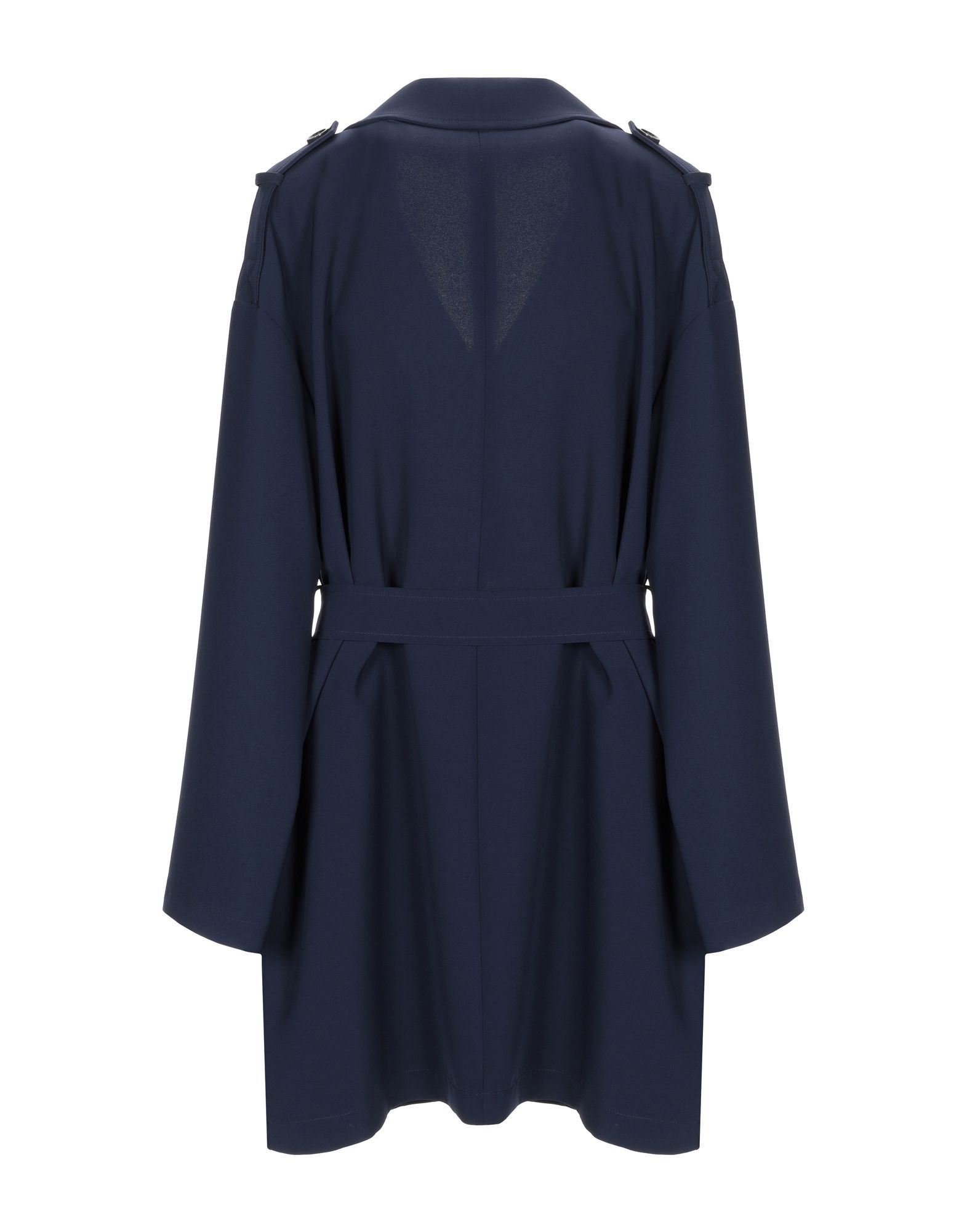 Trussardi Jeans Dark Blue Belted Trenchcoat
