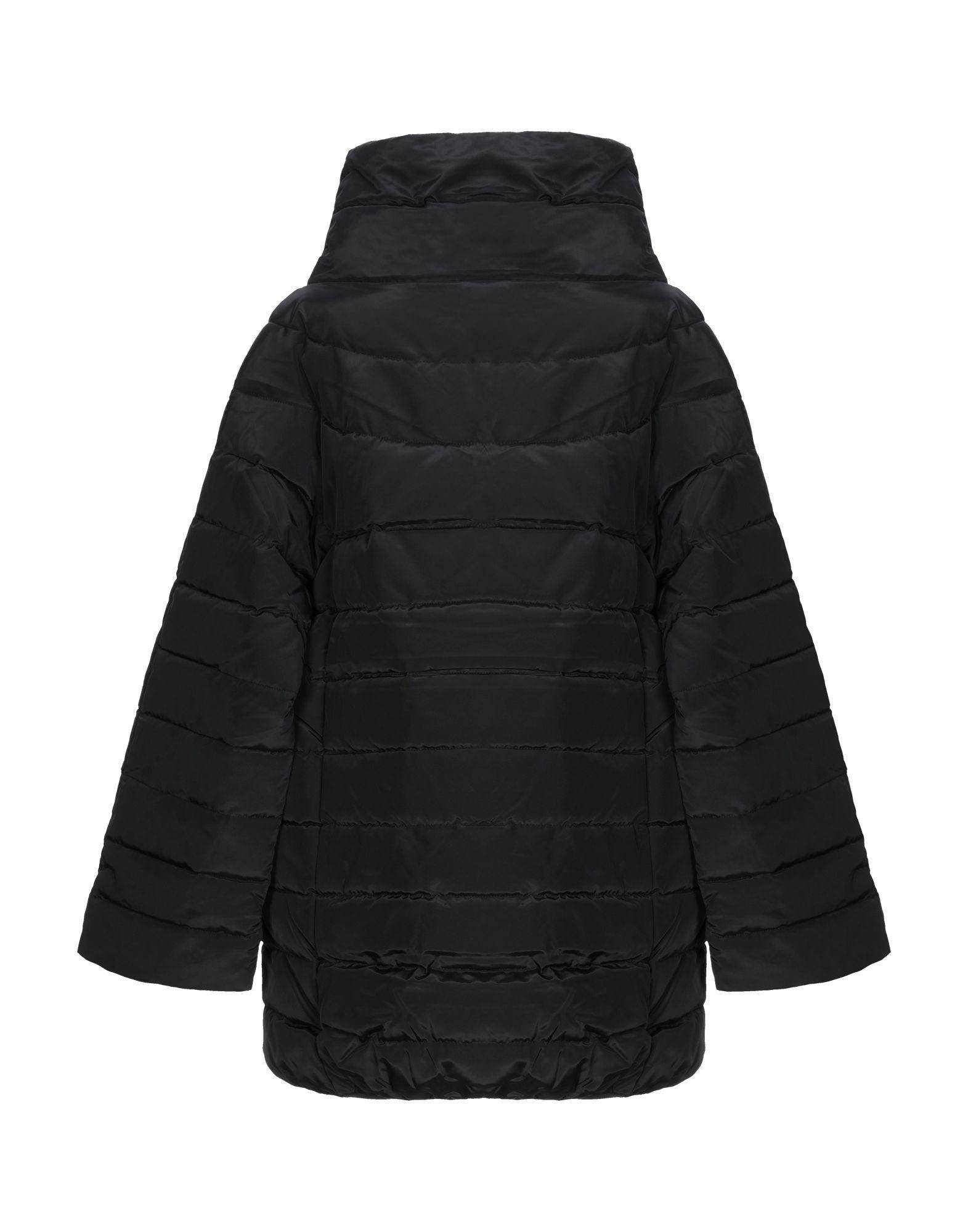Guess Black Techno Fabric Padded Jacket