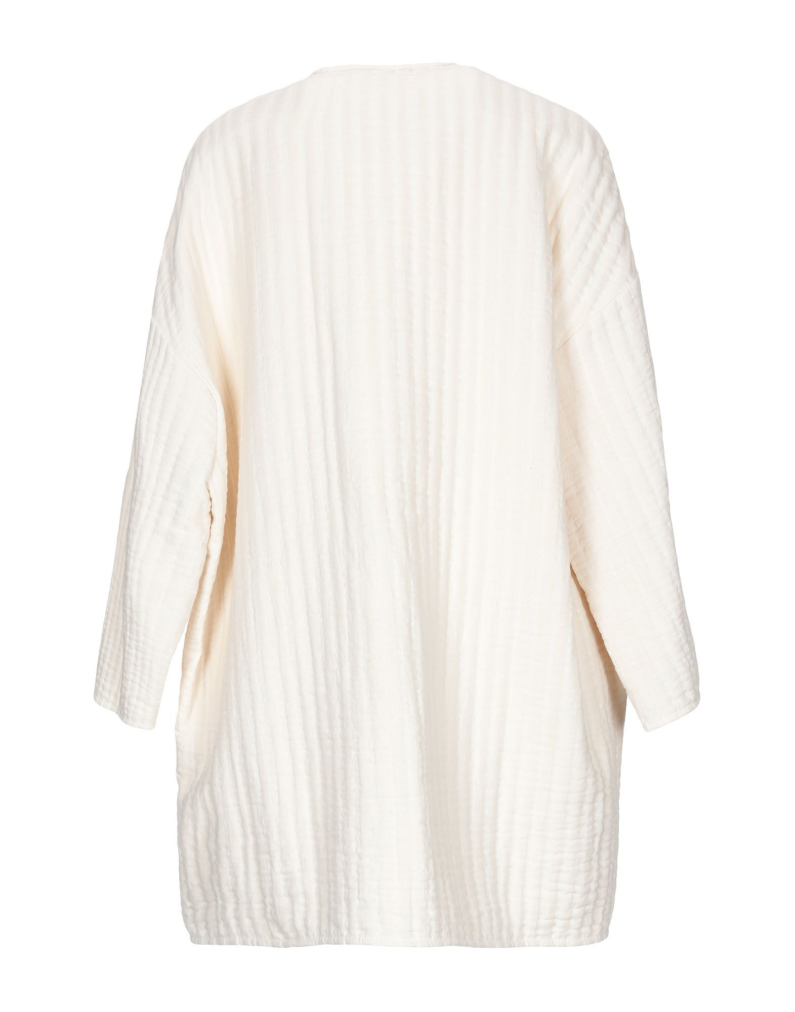 Coat & Jackets Pomand�Re Ivory Women's Cotton