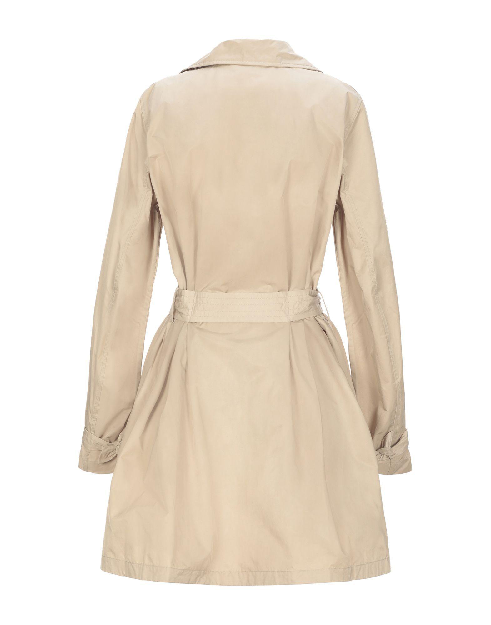 COATS & JACKETS Add Beige Woman Cotton