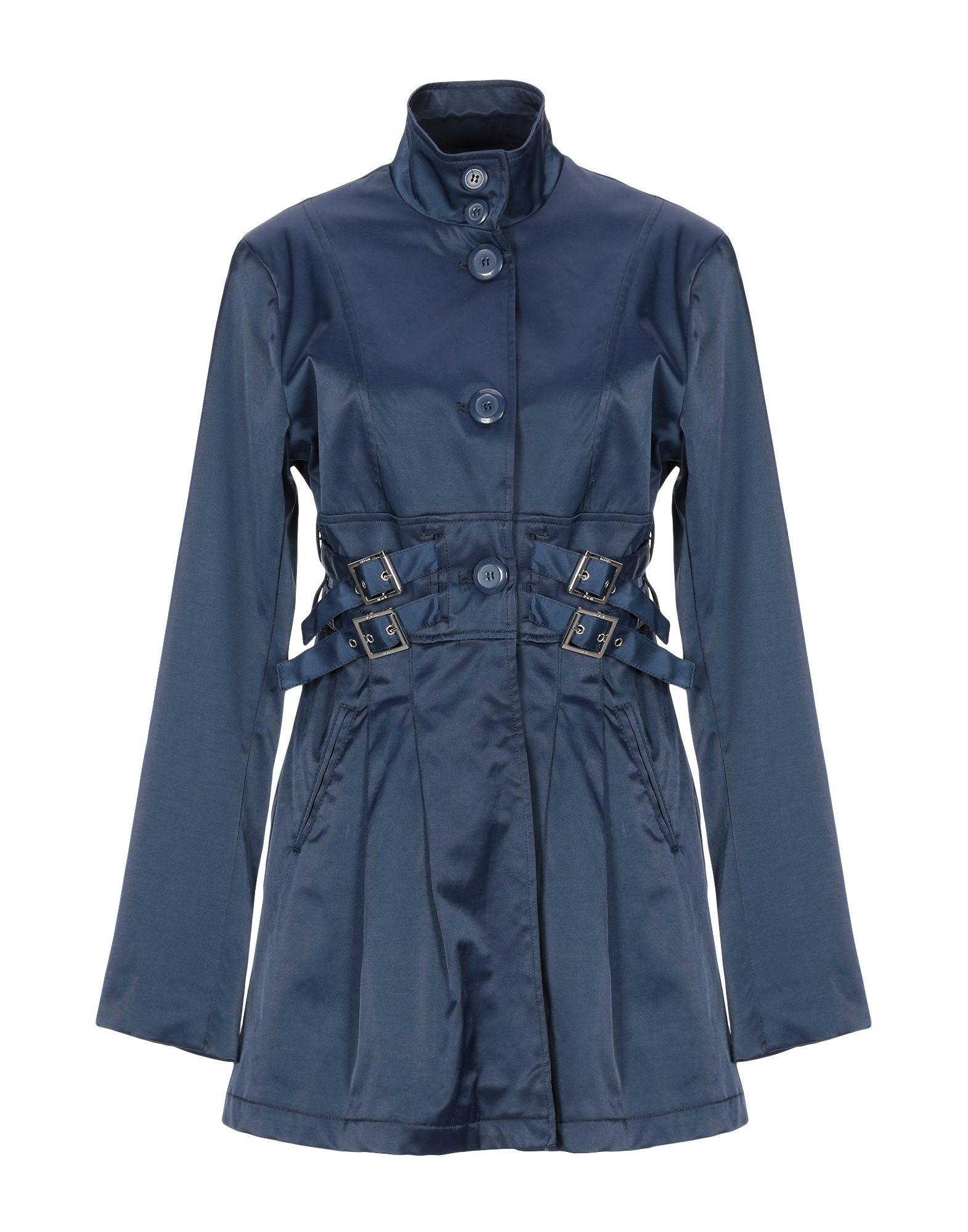 Silvian Heach Dark Blue Cotton Jacket