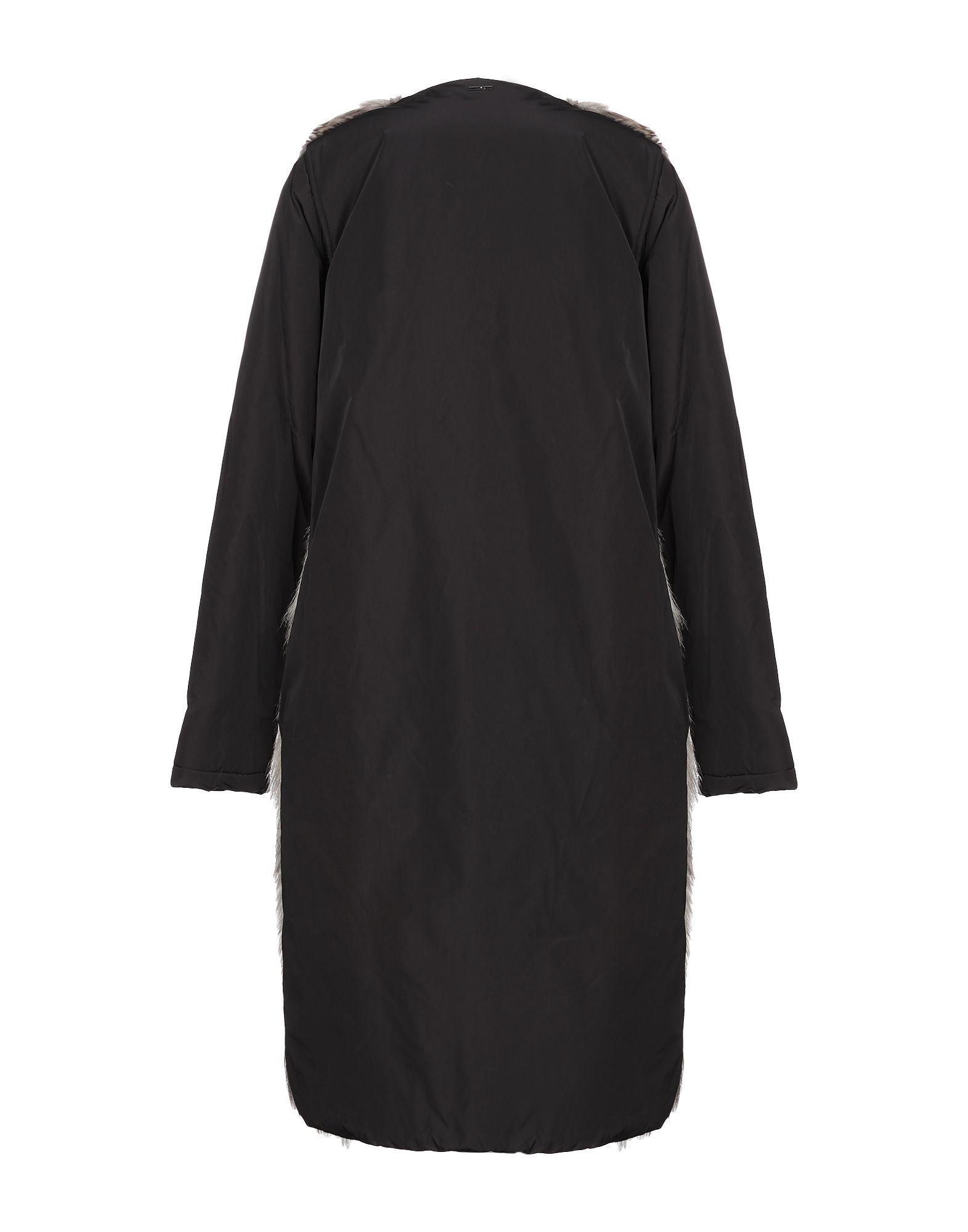 Liu Jo Beige Faux Fur Coat