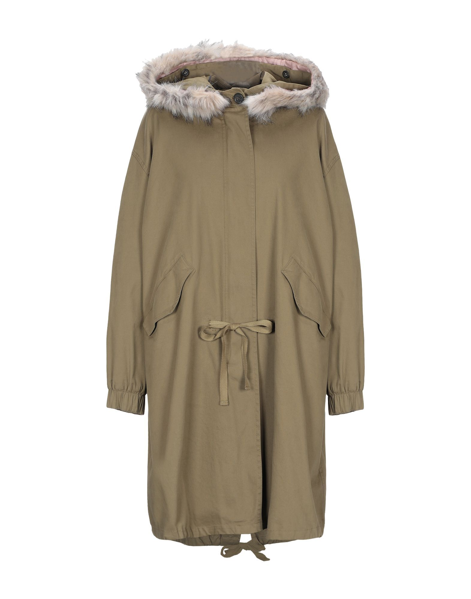 Coat & Jackets Semicouture Military Green Women's Cotton