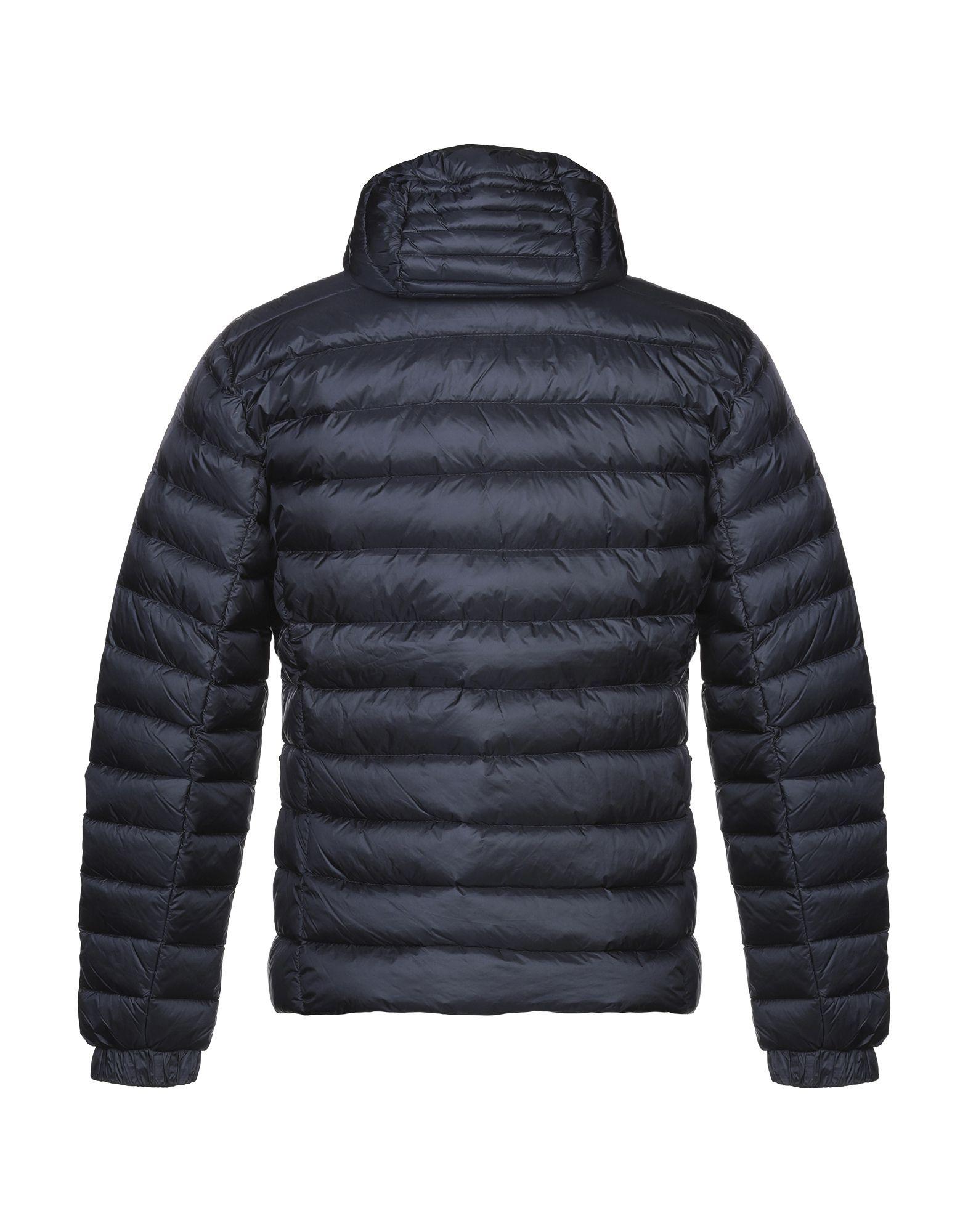 COATS & JACKETS Refrigiwear Dark blue Man Polyamid