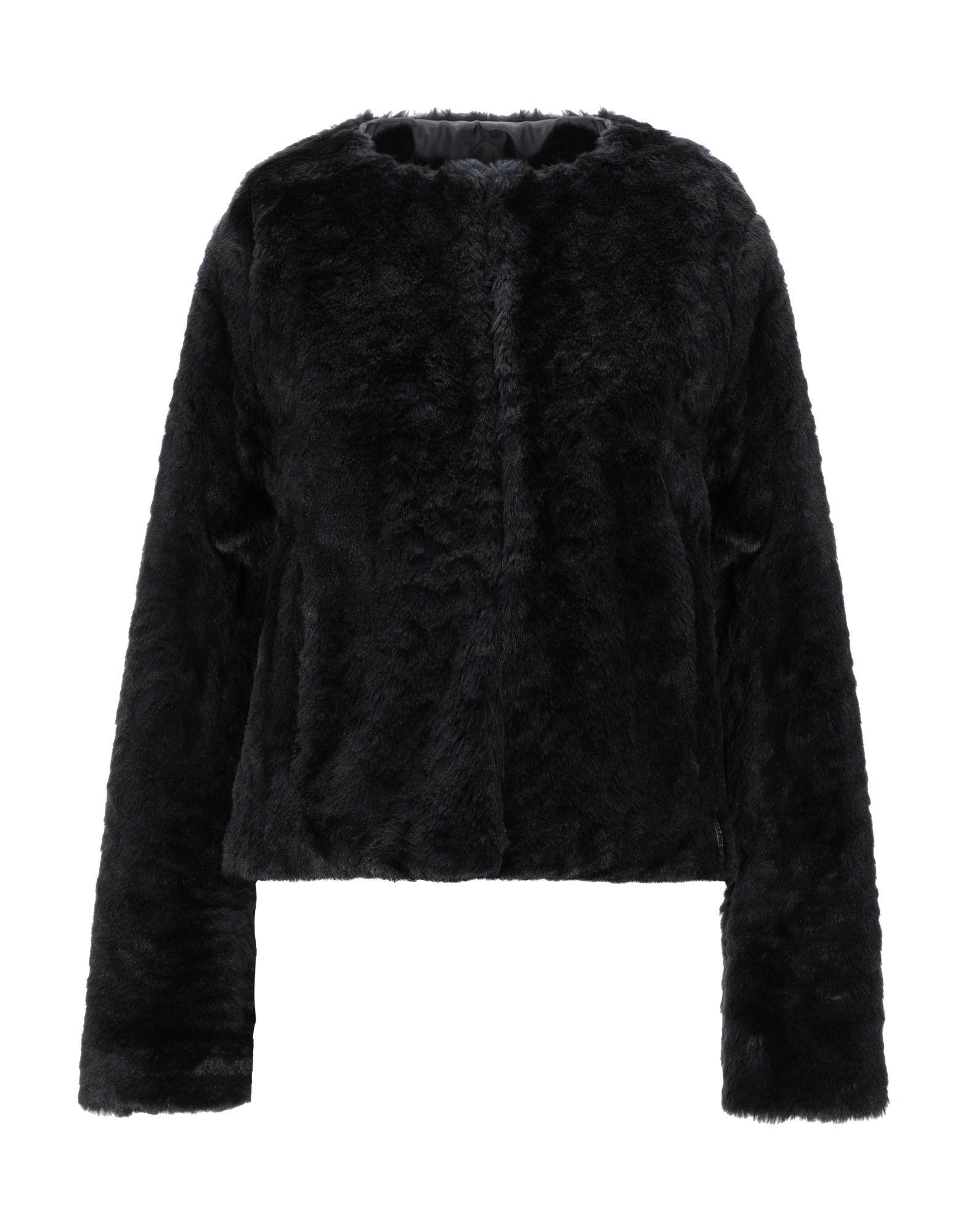 Coat & Jackets !M?Erfect Black Women's Acrilyc