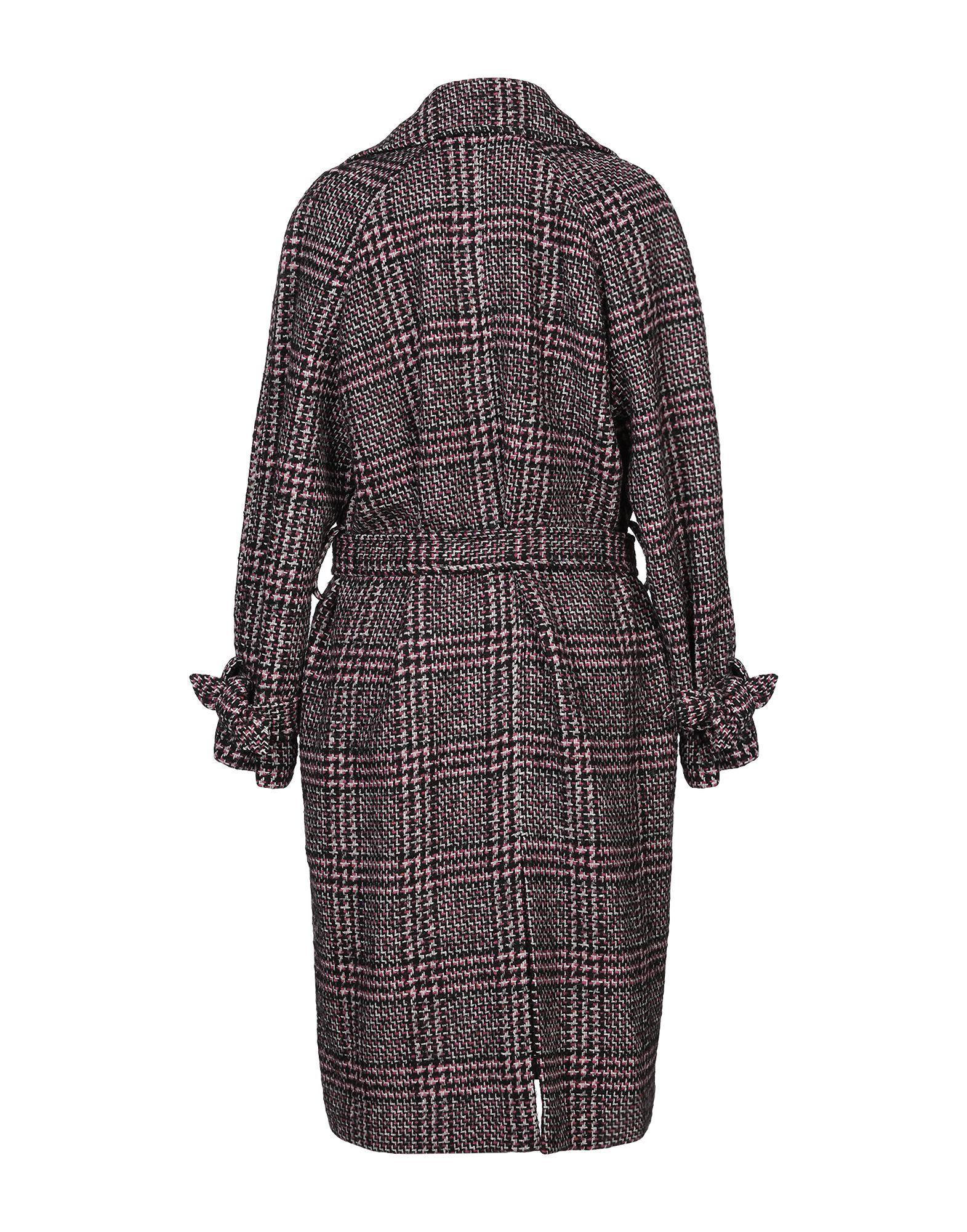 COATS & JACKETS 8Pm Black Woman Wool