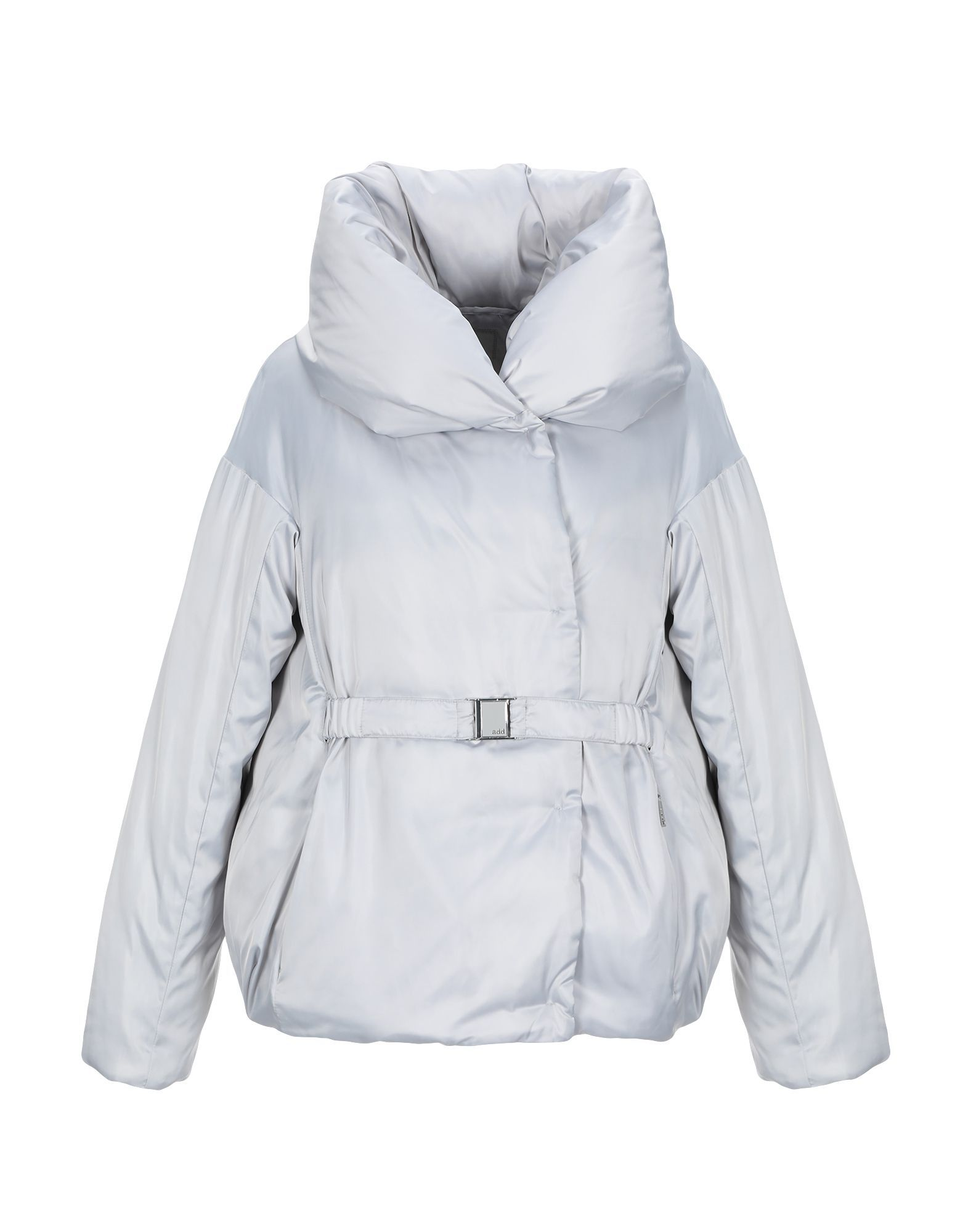 COATS & JACKETS Add Light grey Woman Polyester