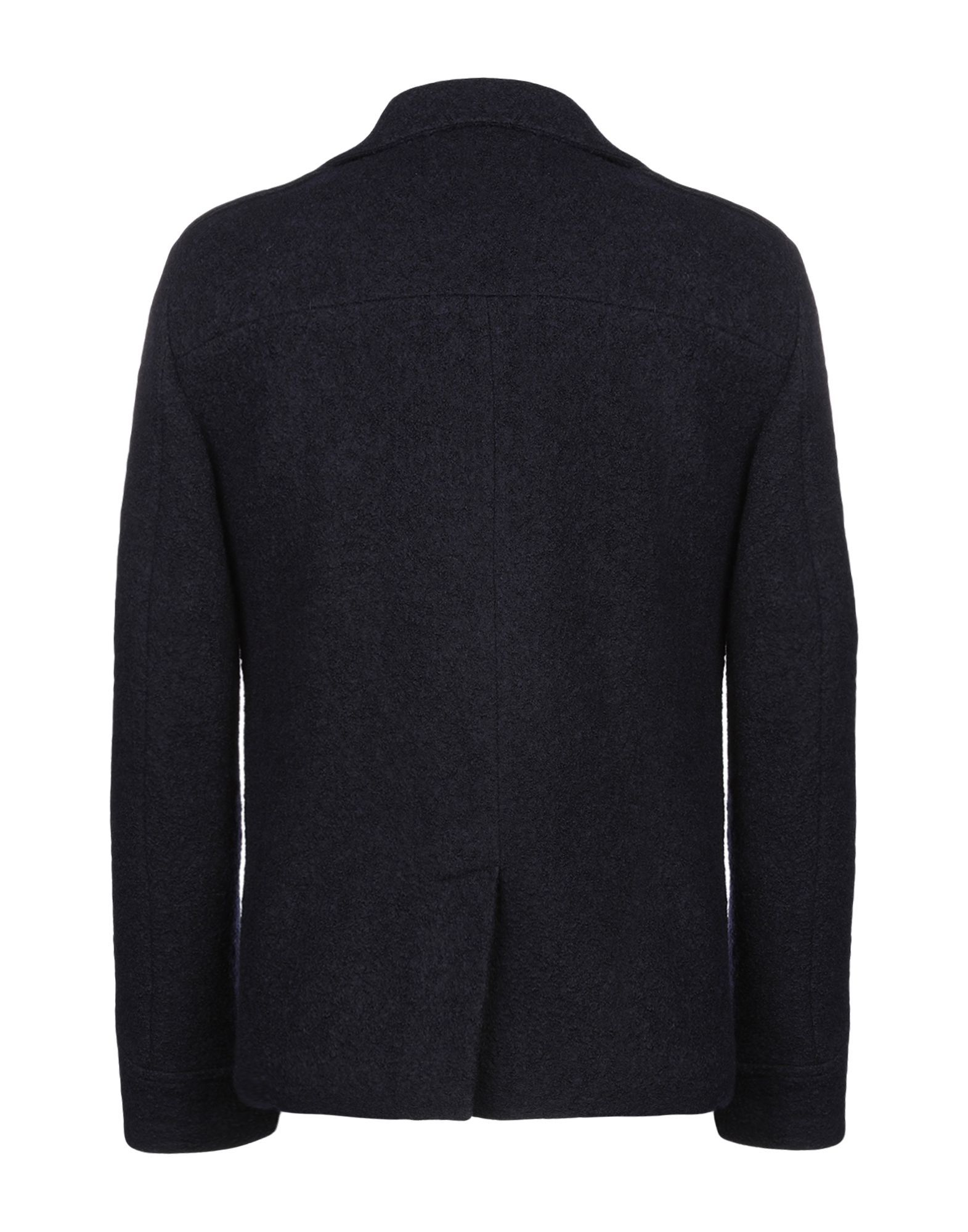 COATS & JACKETS Schneiders Dark blue Man Virgin Wool
