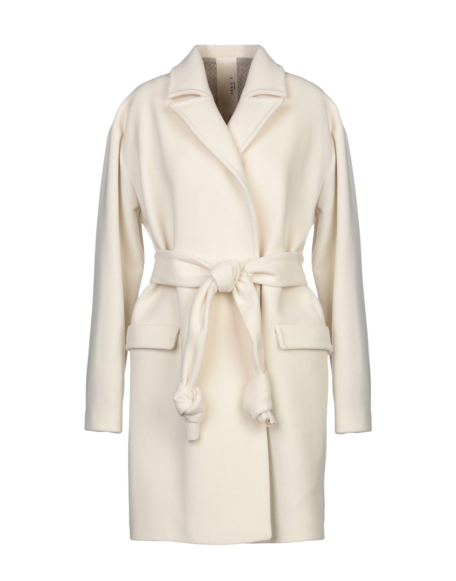 Coat & Jackets Annie P. Ivory Women's Virgin Wool