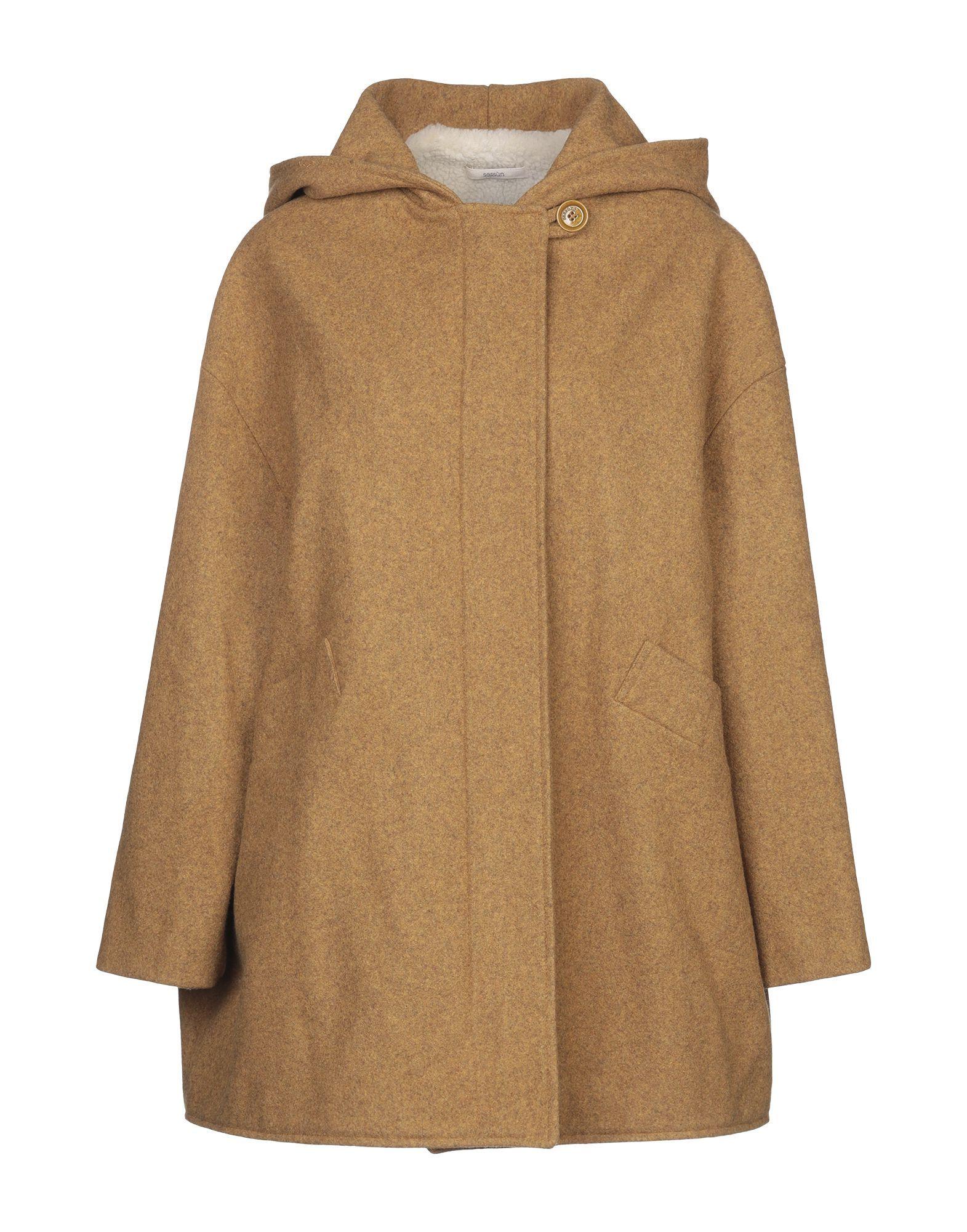 Sessun Ochre Wool Coat