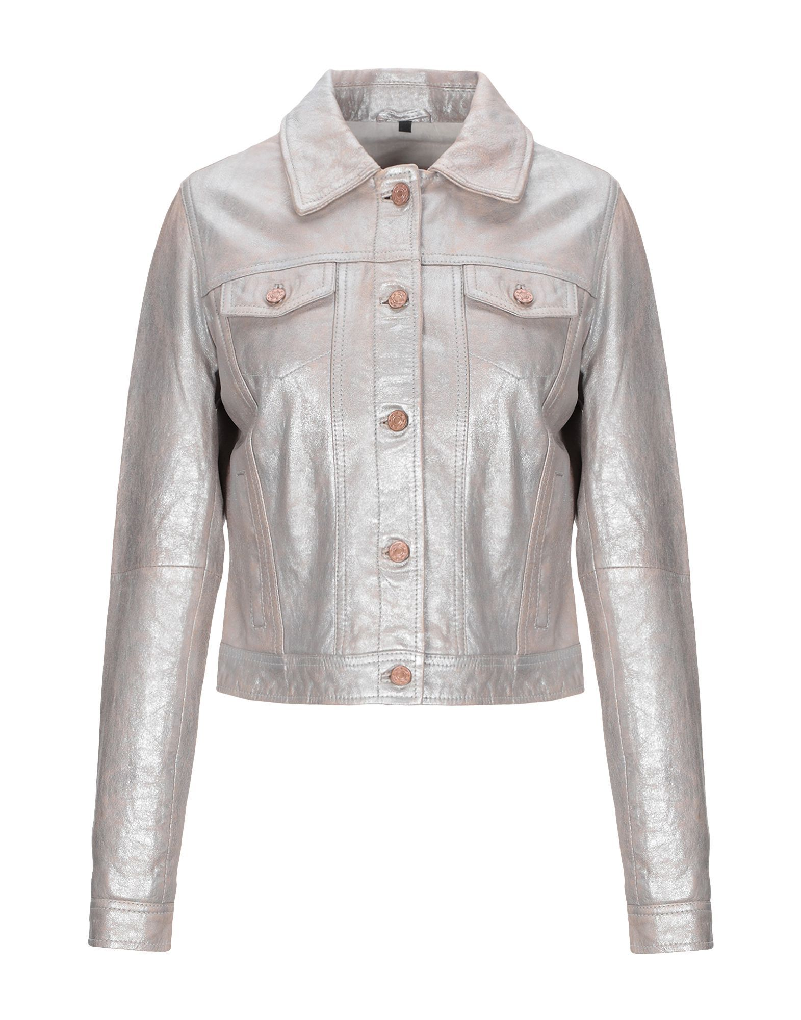Coat & Jackets Freaky Nation Silver Women's Leather