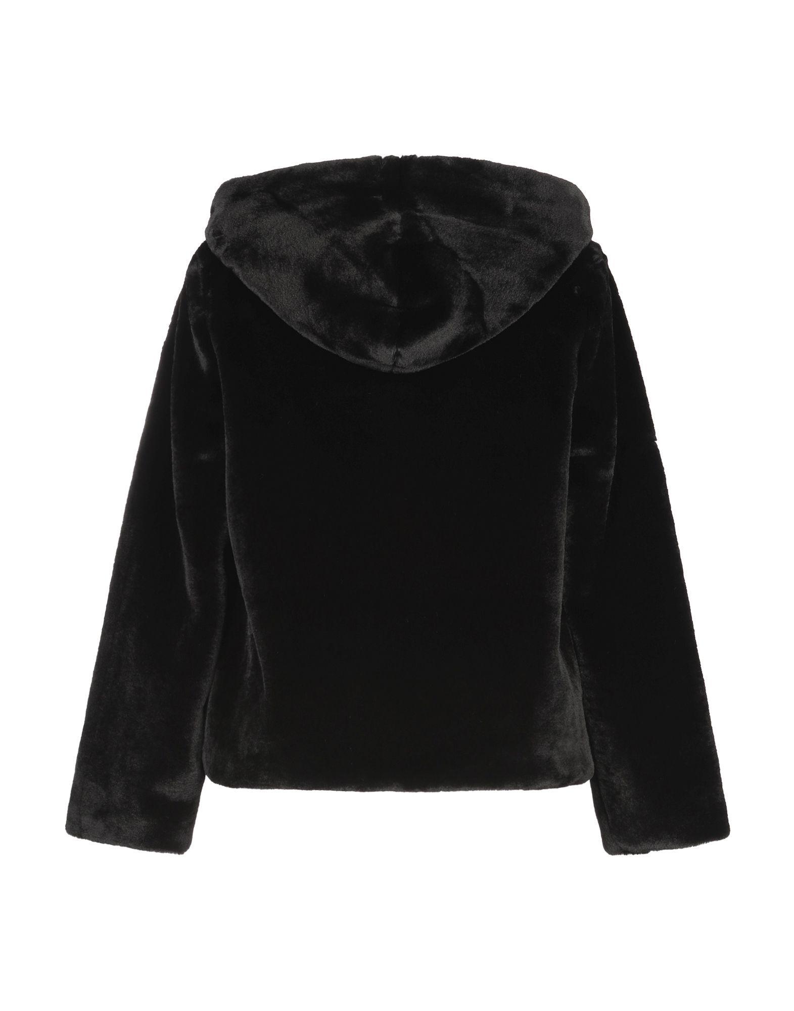 COATS & JACKETS Twenty Easy By Kaos Black Woman Polyester