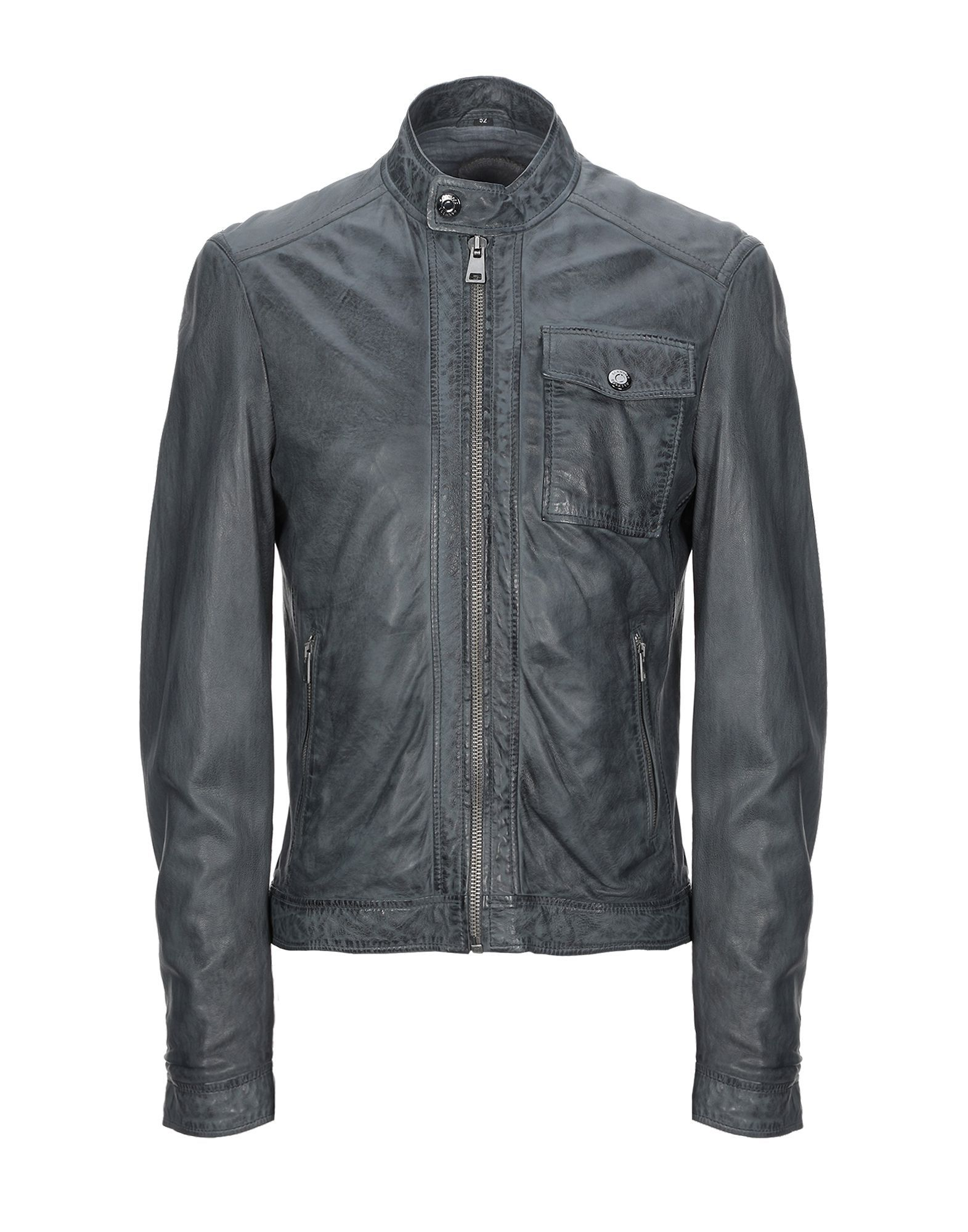 Oakwood Lead Leather Jacket