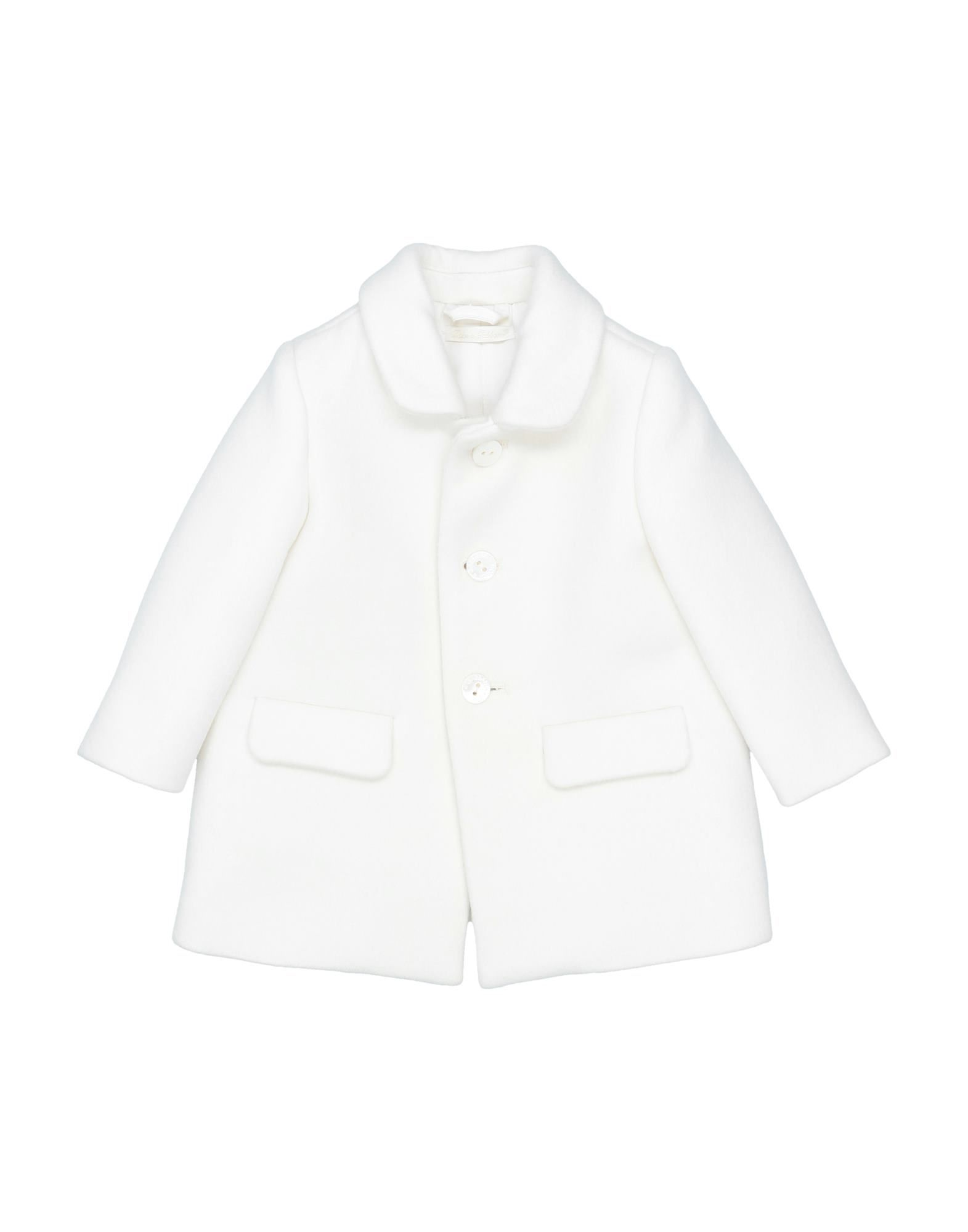 COATS & JACKETS Dolce & Gabbana White Girl Wool