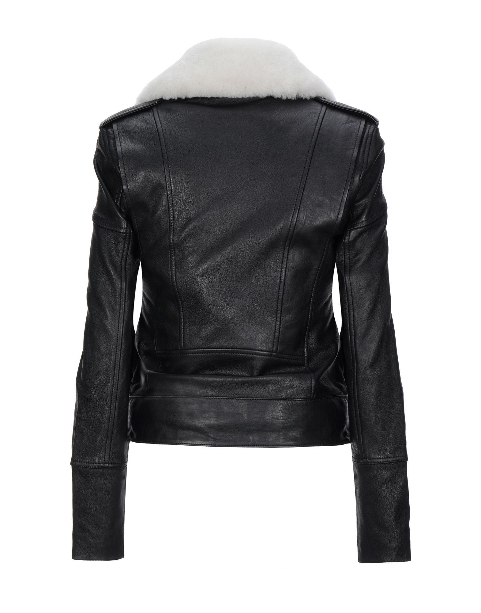 Victoria, Victoria Beckham Black Nappa Leather Jacket
